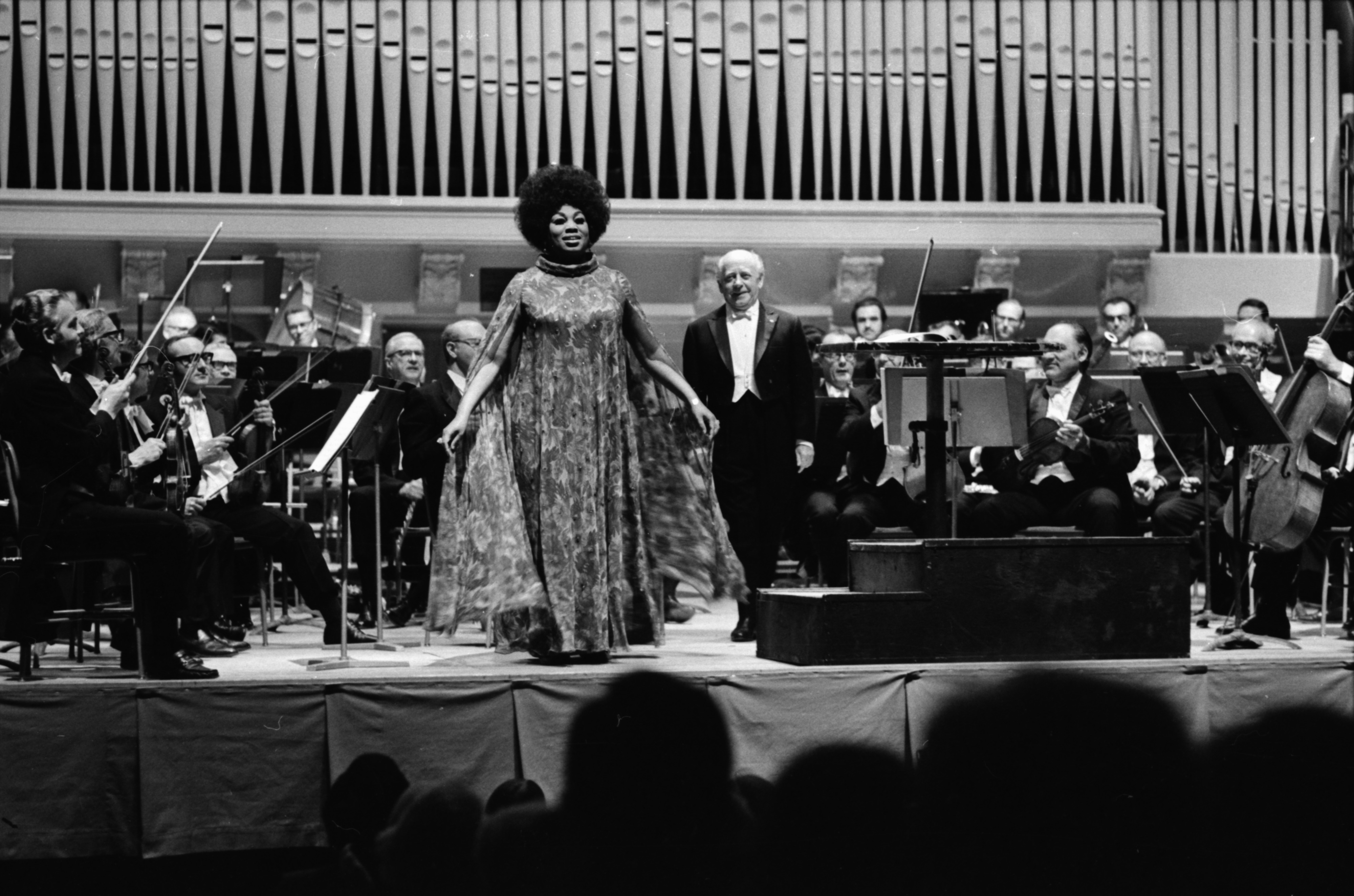 Leontyne Price and Eugene Ormandy, May Festival, 1971 image