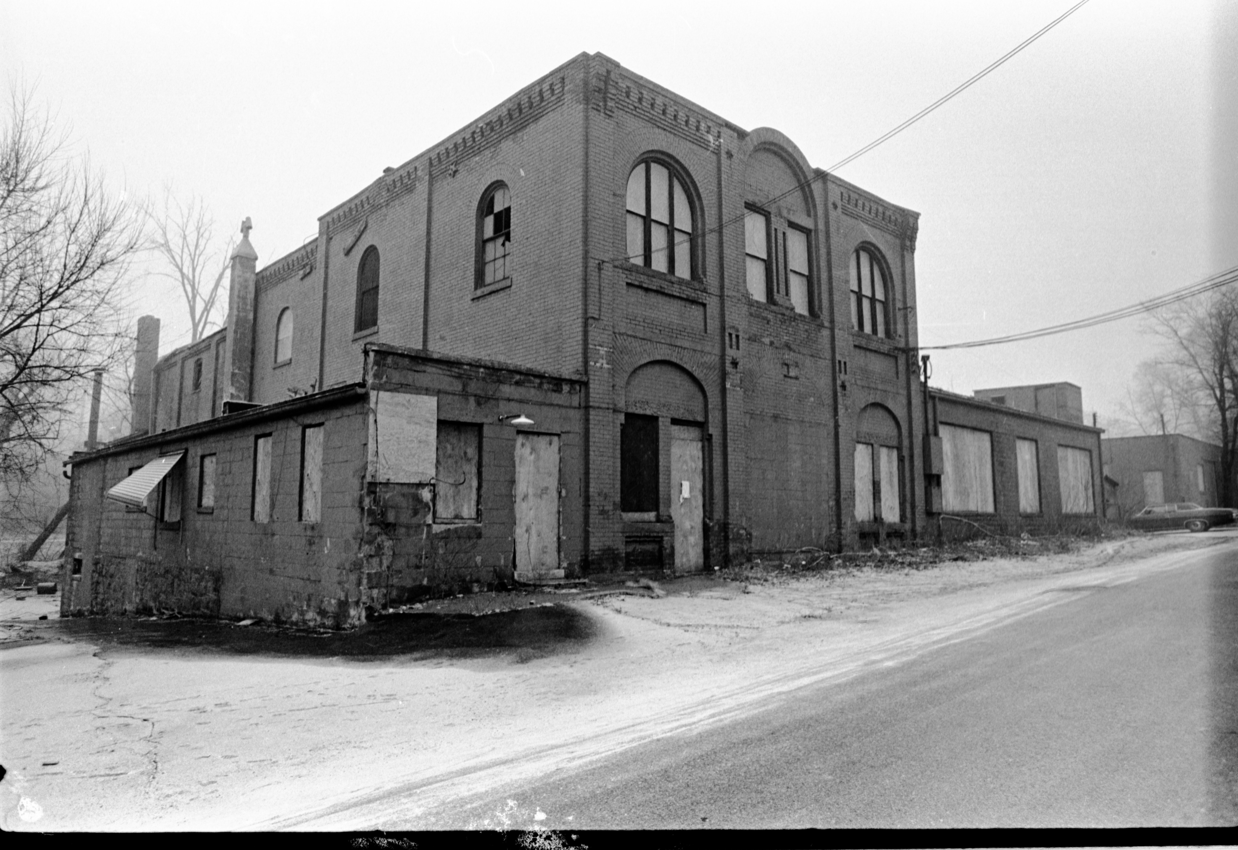 Exterior Of The Ann Arbor Foundry, February 5, 1975 image