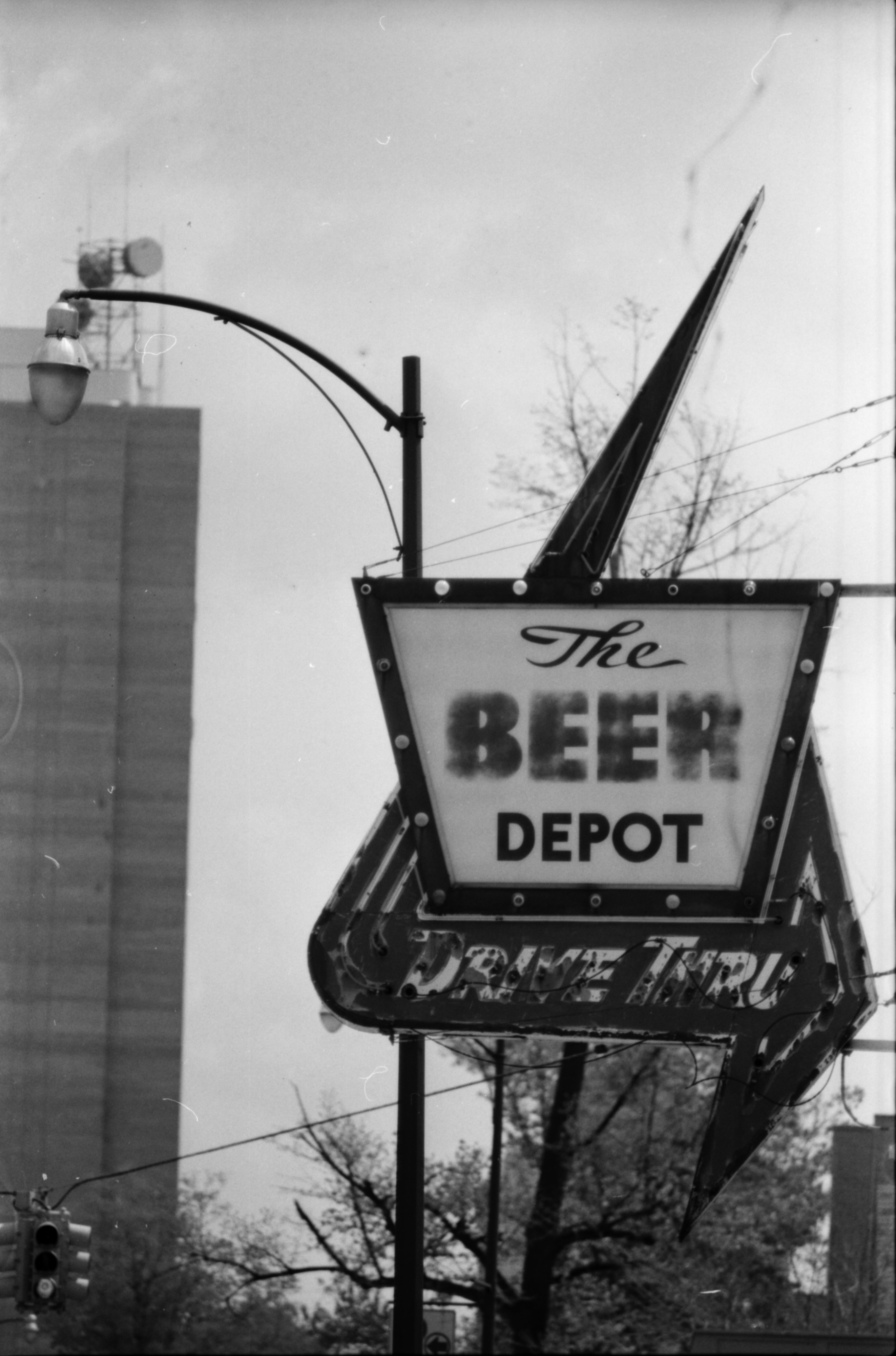 The Beer Depot Sign, May 1975 image
