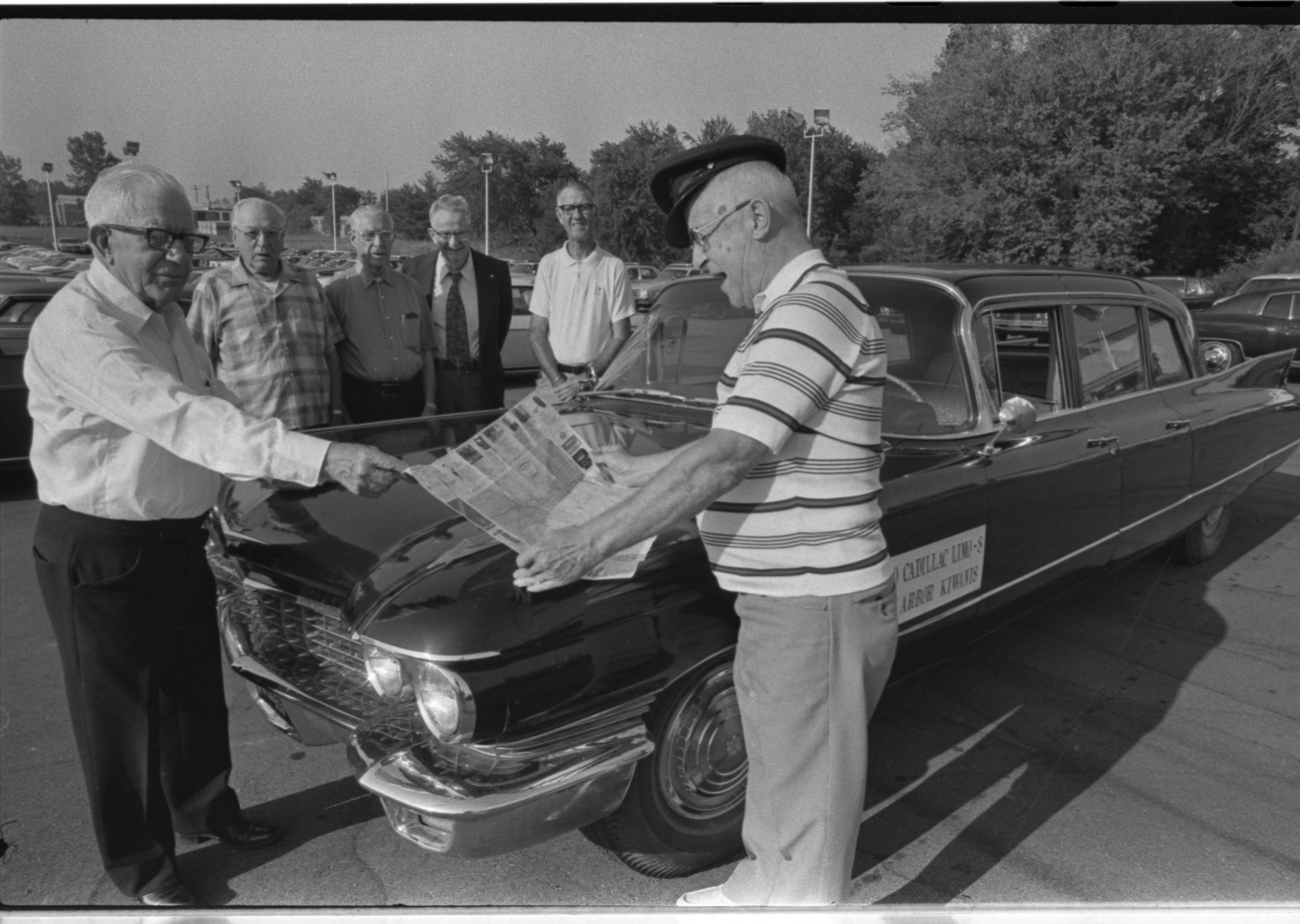 Kiwanis Club of Ann Arbor Members Travel In Style, August 1975 image