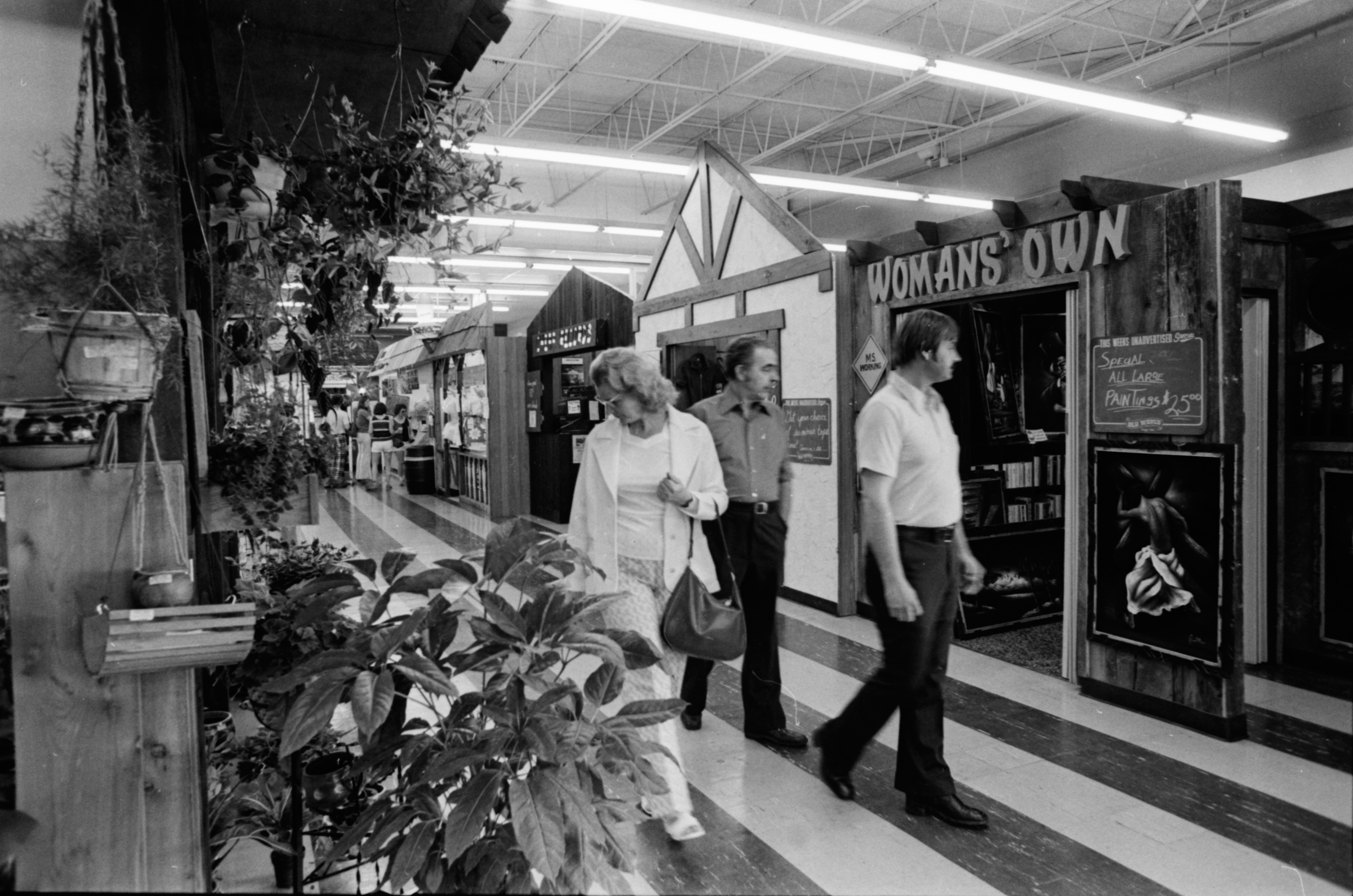 "Old World Village Mall Store ""Fronts"" image"