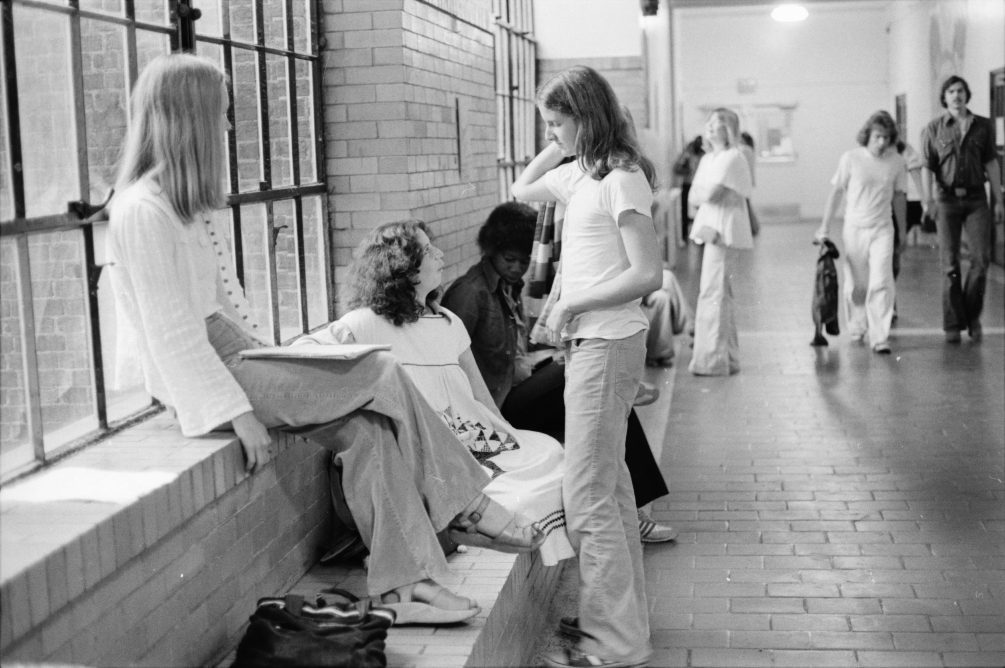 Community High School students, 1978 image