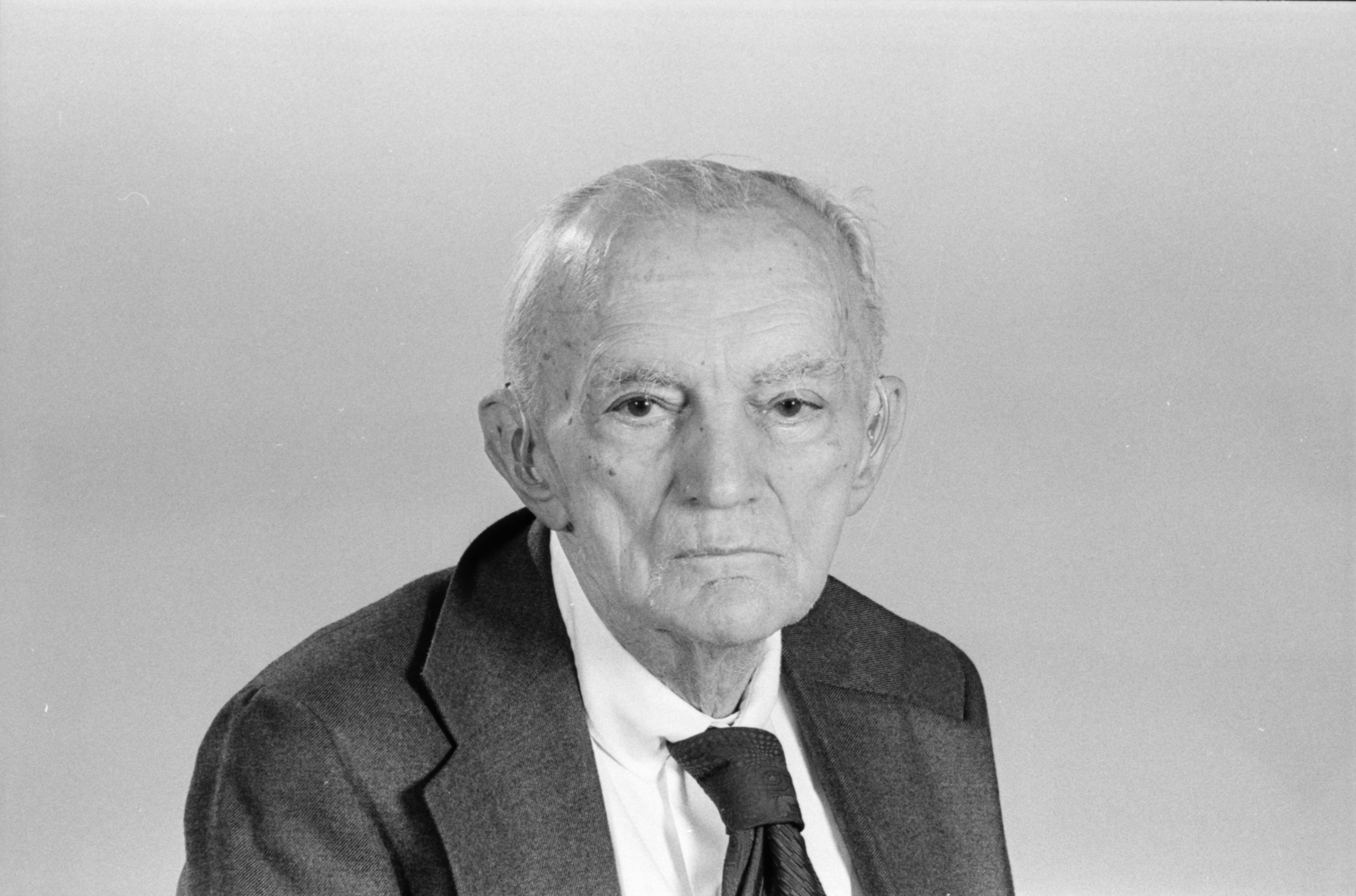 Portrait of Preston W. Slosson, October 1977 image