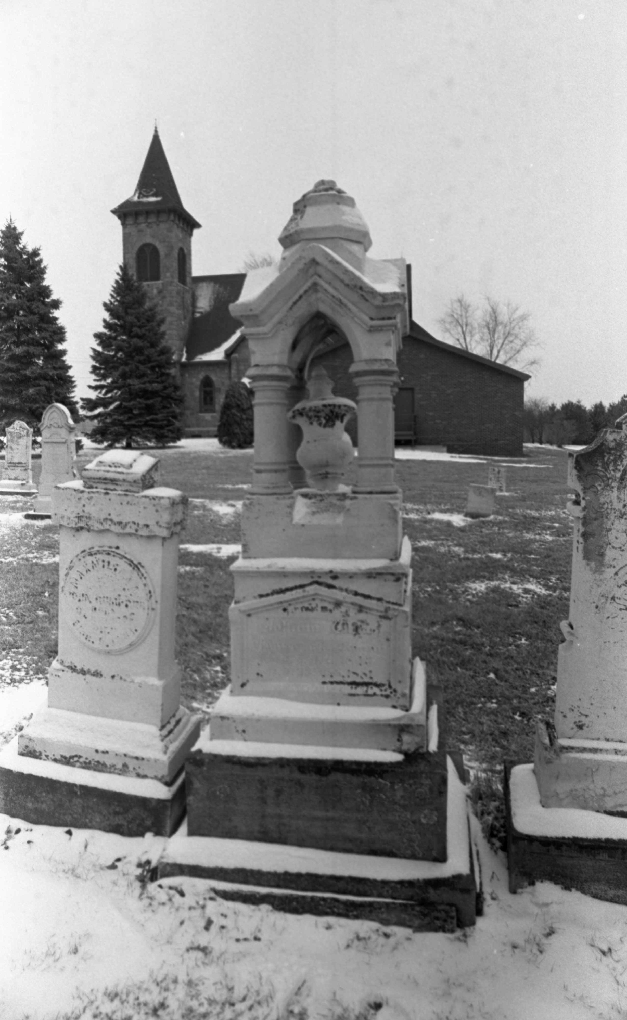 The Grave Of Johana Haarer In Bethel Church Cemetery, March 1980 image