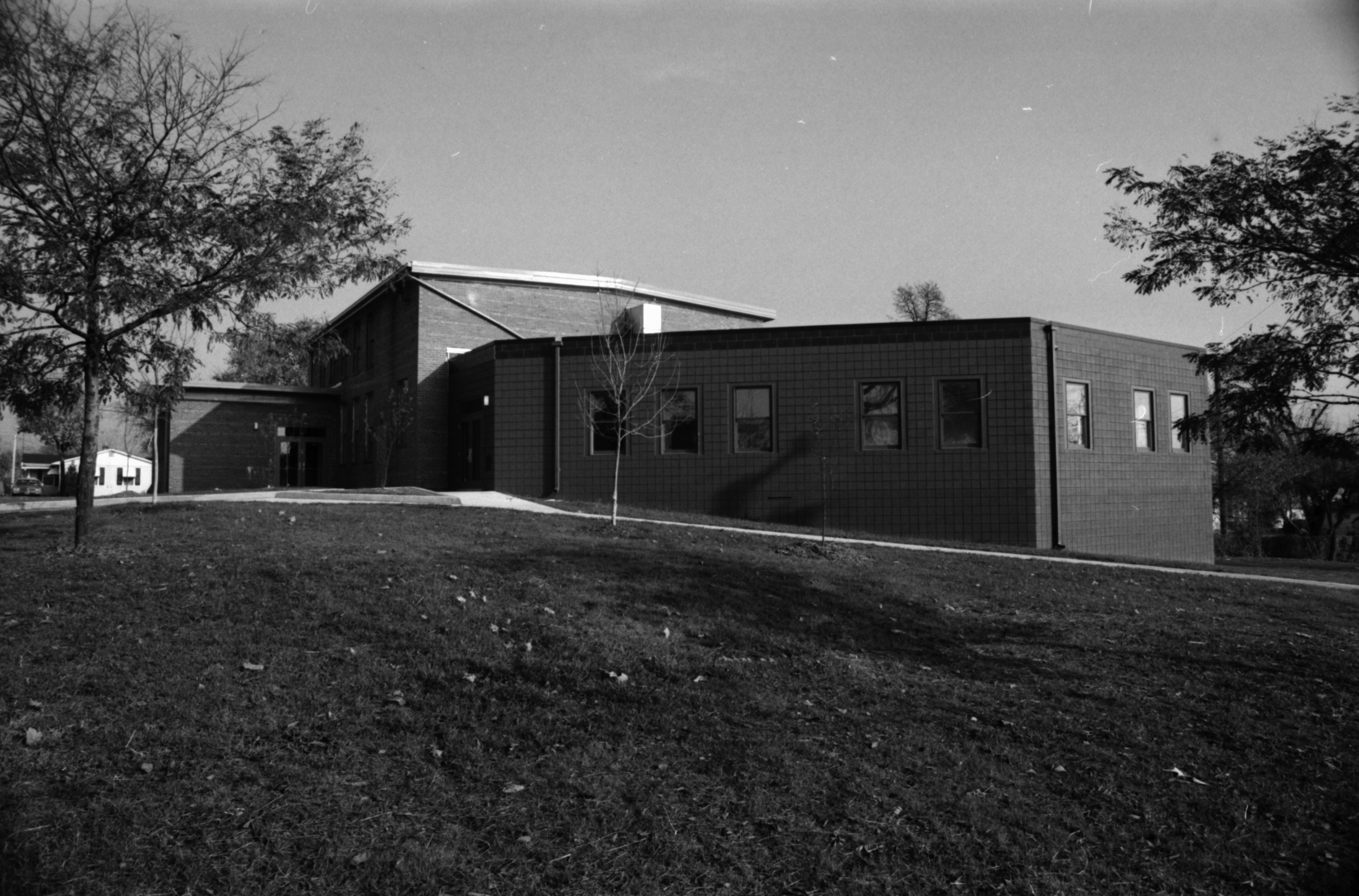Exterior View of Remodeled Parkridge Community Center, November 1981 image