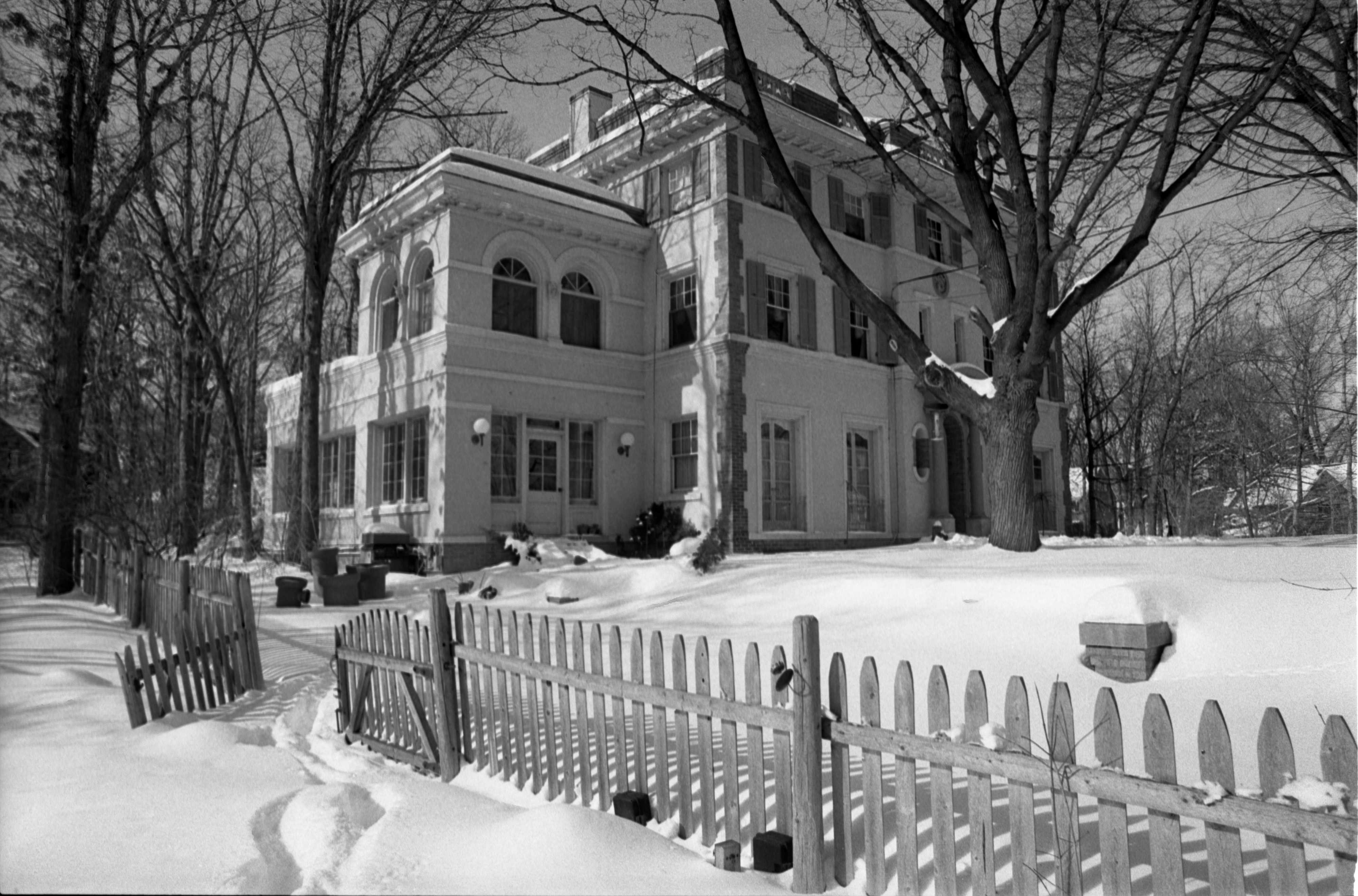Exterior Of The Hermitage House, February 15, 1982 image