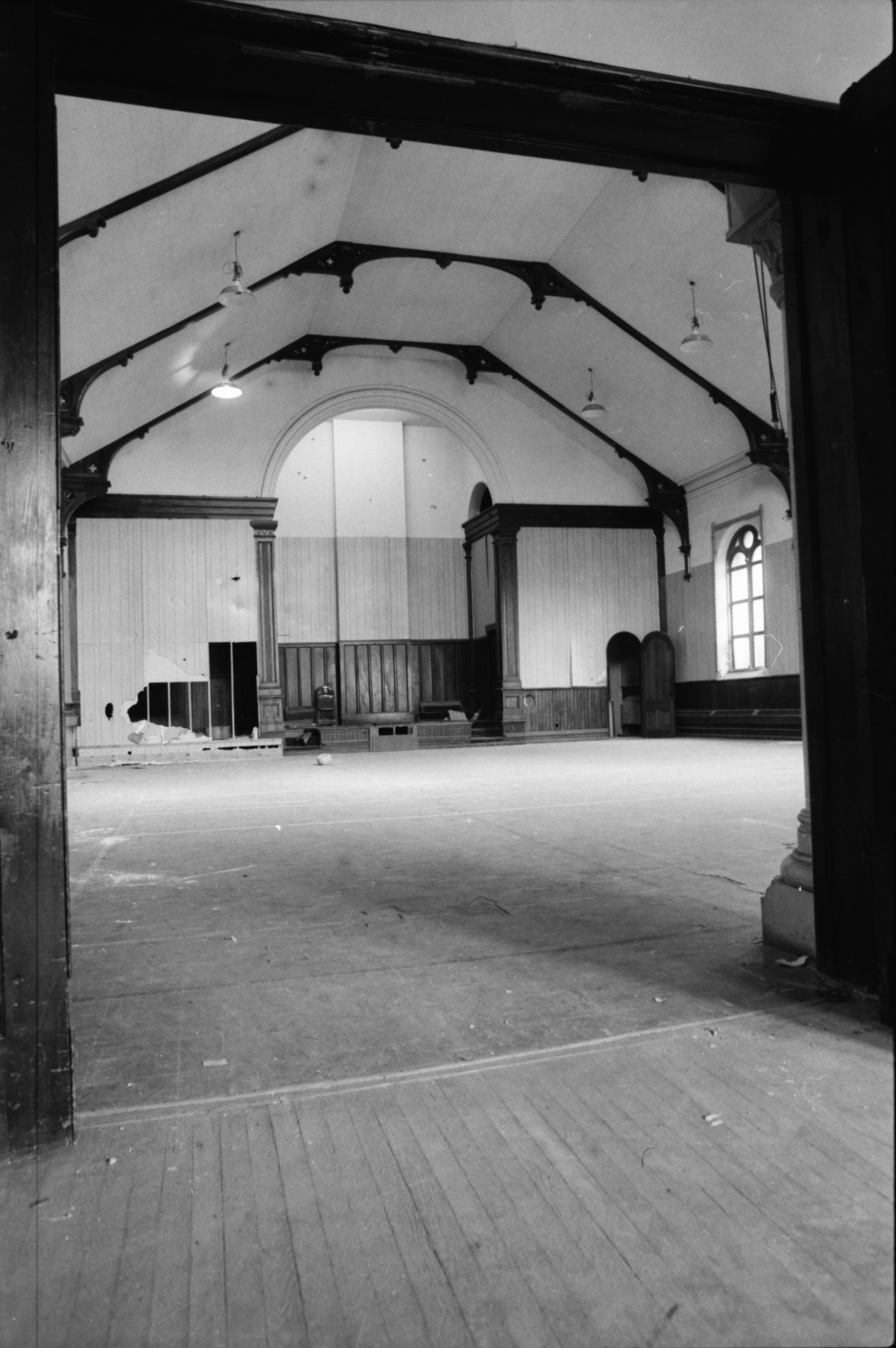 Interior of Old Unitarian Church at 110 N State St image