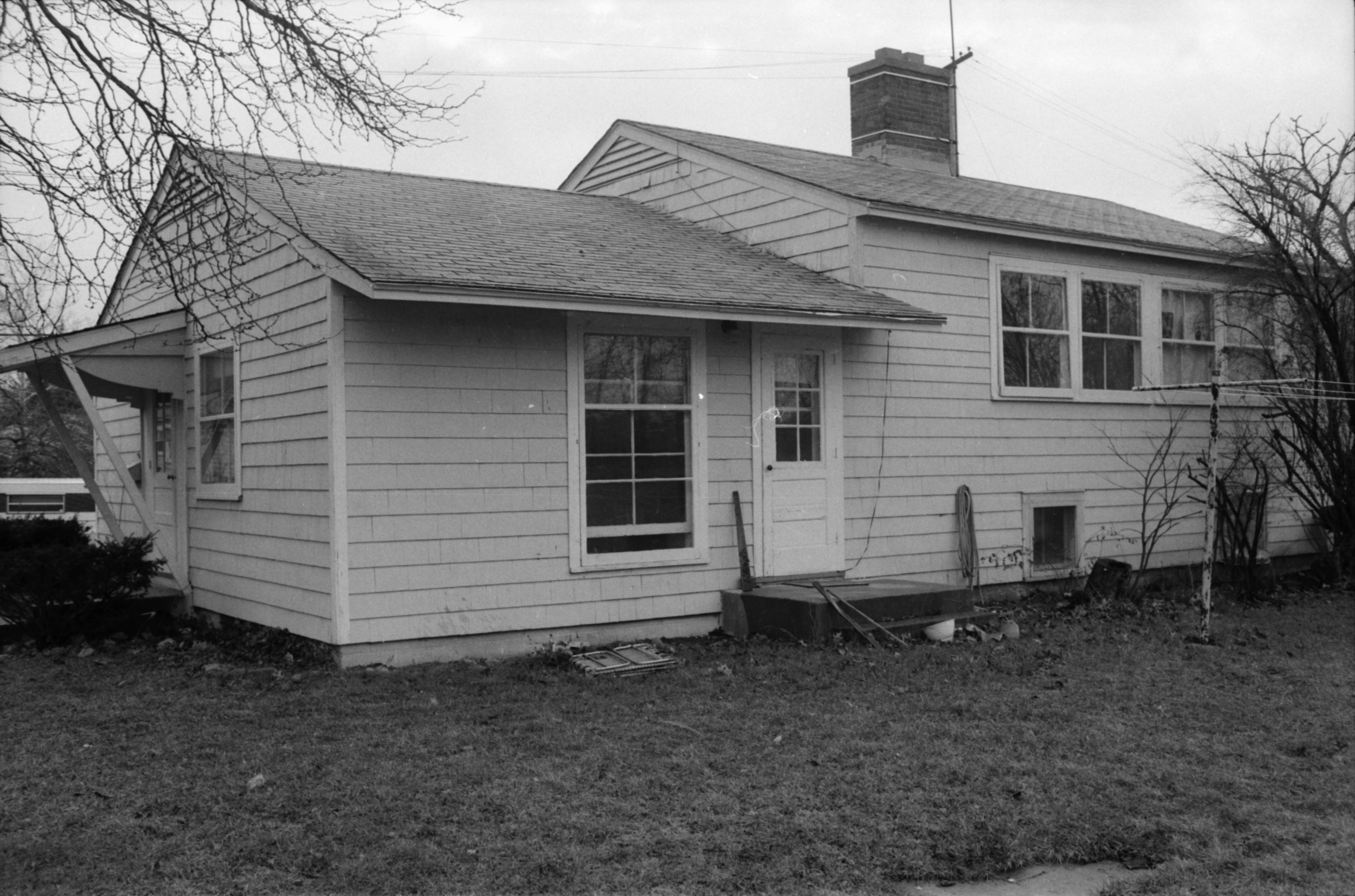 Exterior View of Home at Pittsfield Village, 1983 image