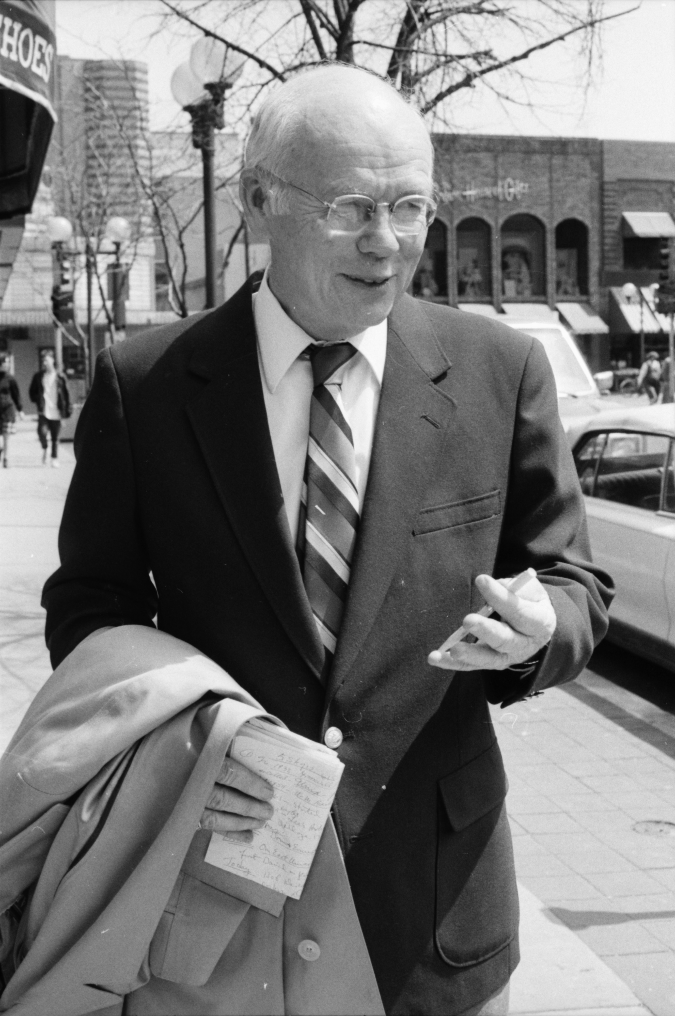 Ann Arbor News Reporter Bill Treml, May 1989 image