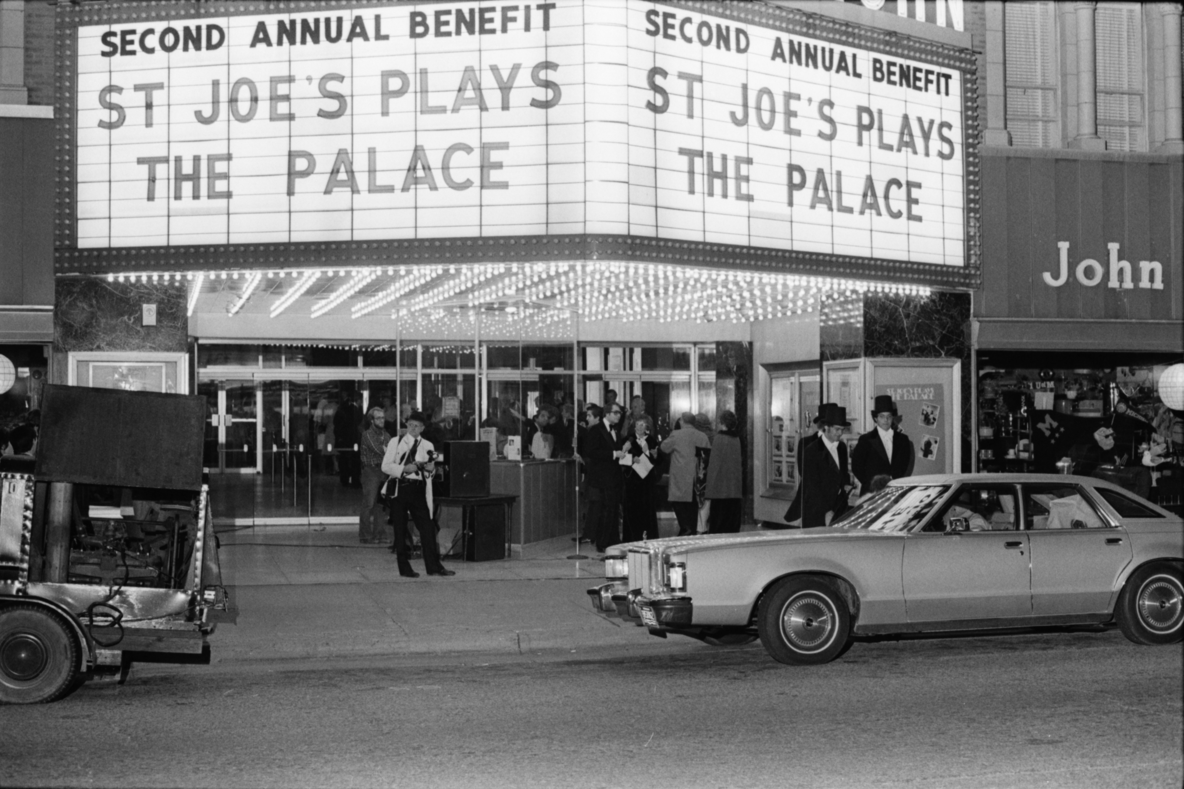 St. Joe's Plays the Palace Charity Event, October 1977 image