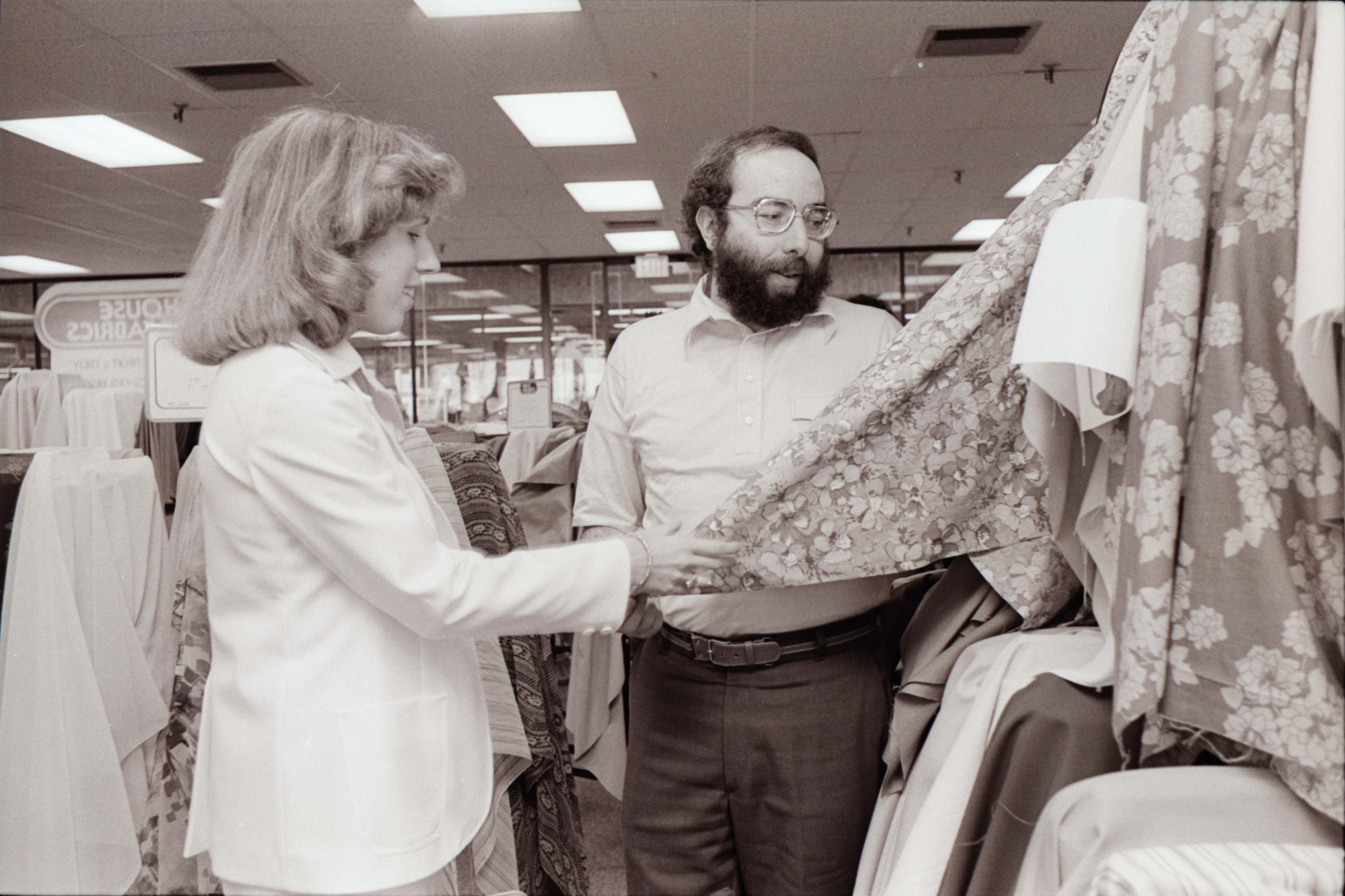 House of Fabrics at Plymouth Mall, May 1978 image