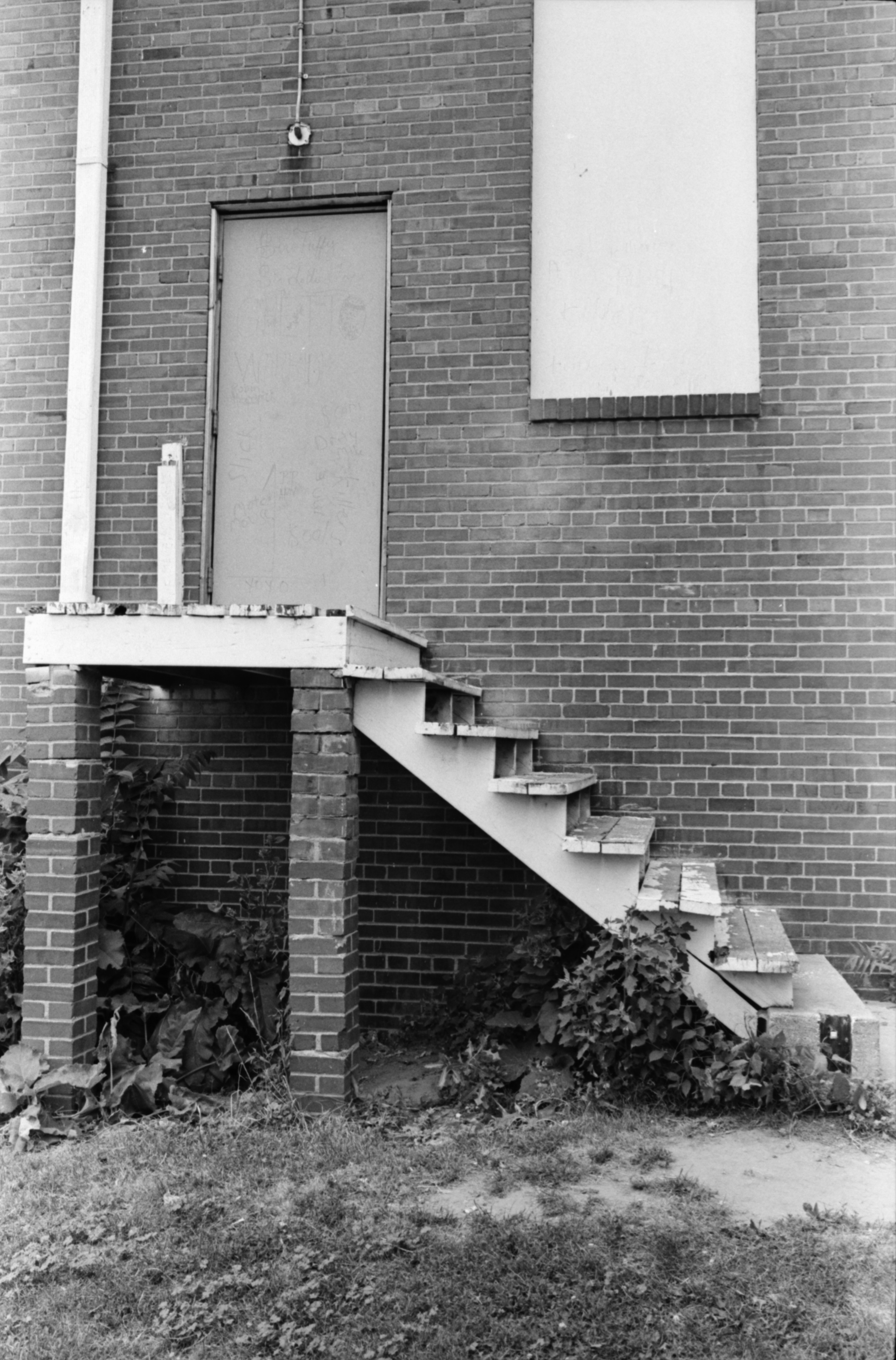 Rickety Staircase at Parkridge Community Center, July 1978 image