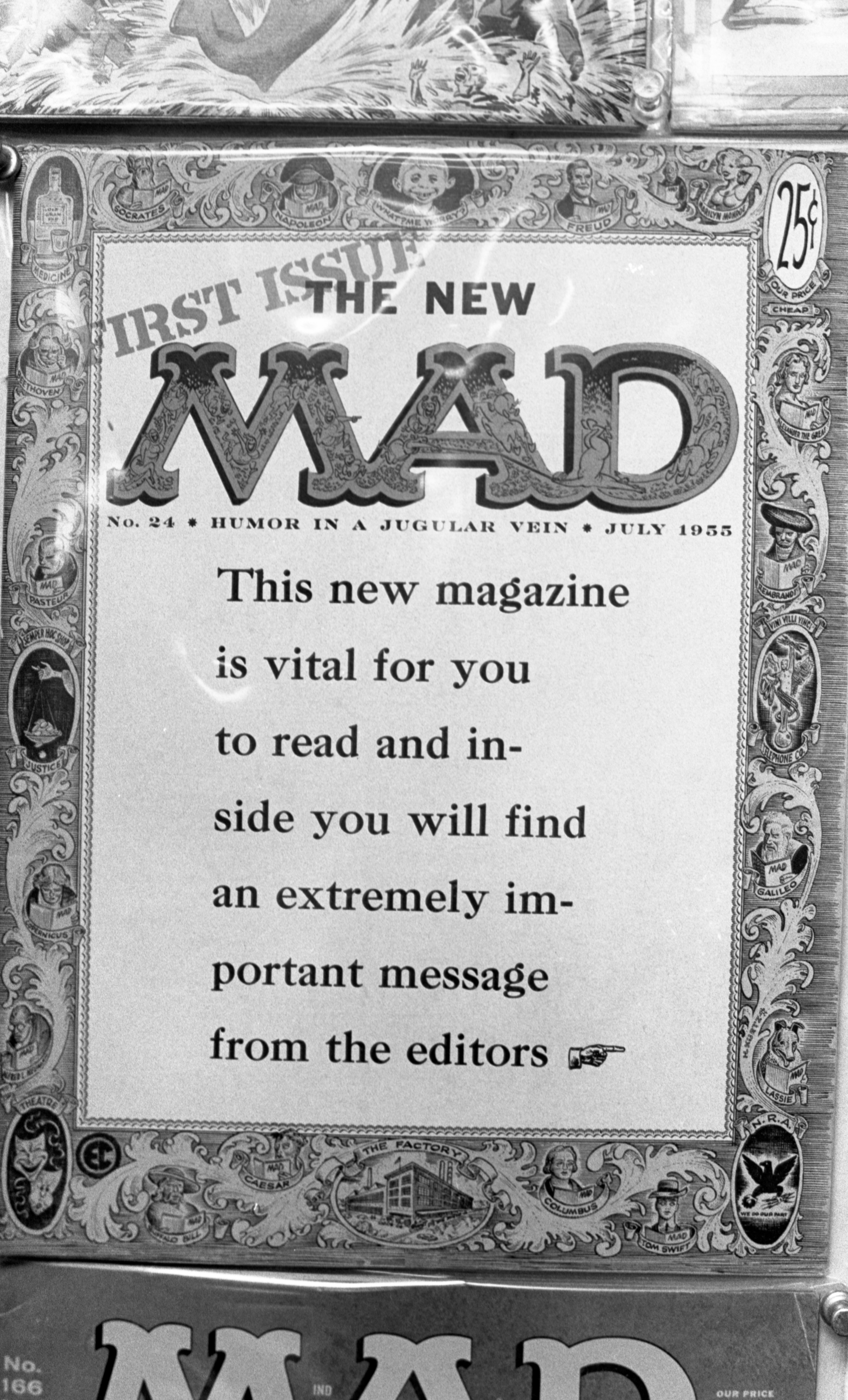 MAD Magazine (July 1955, Volume 1, No. 24) On Display At The Eye Of Agamotto, September 1978 image