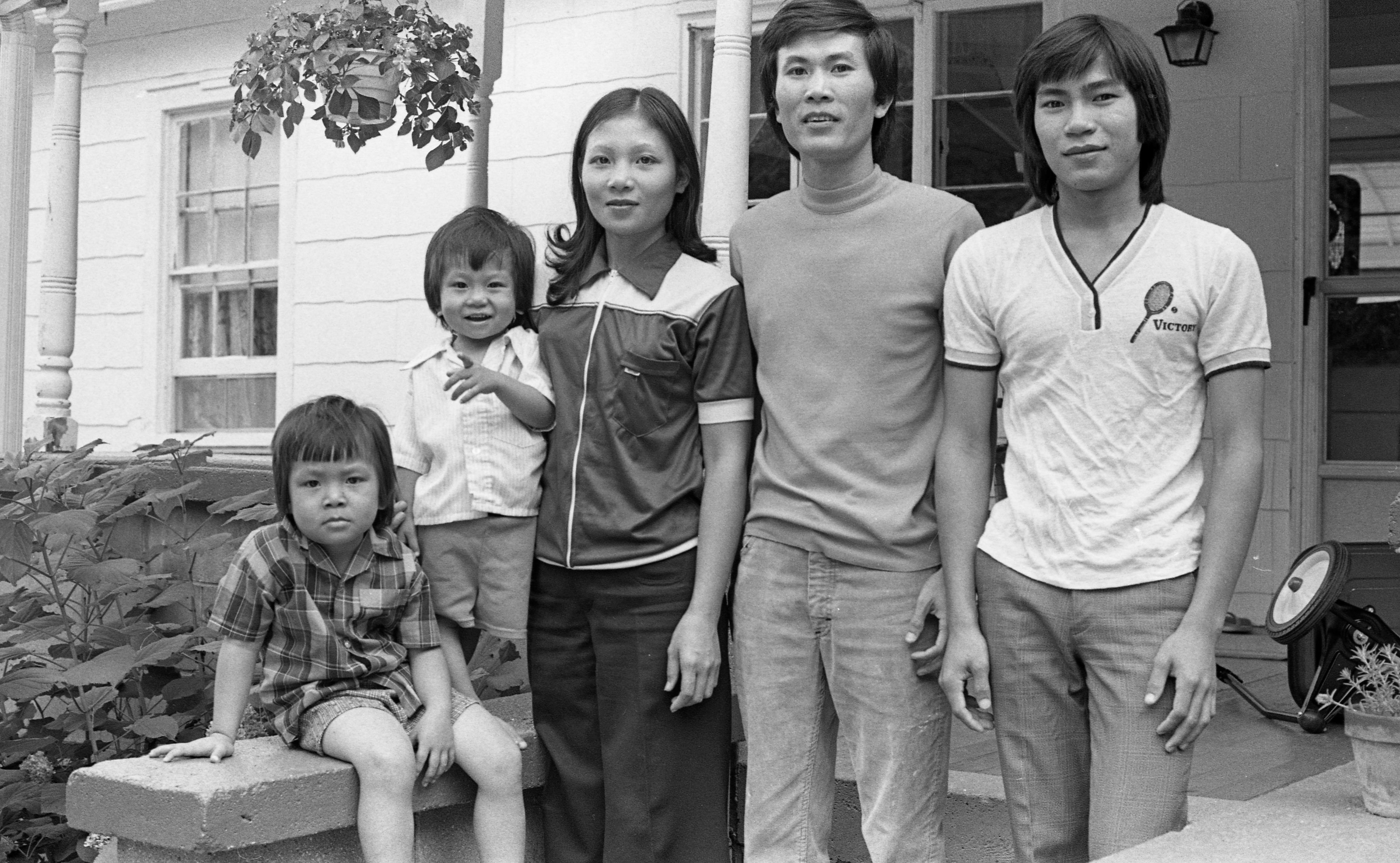 Vietnamese Refugees Happy With New Home In Manchester, August 1980 image