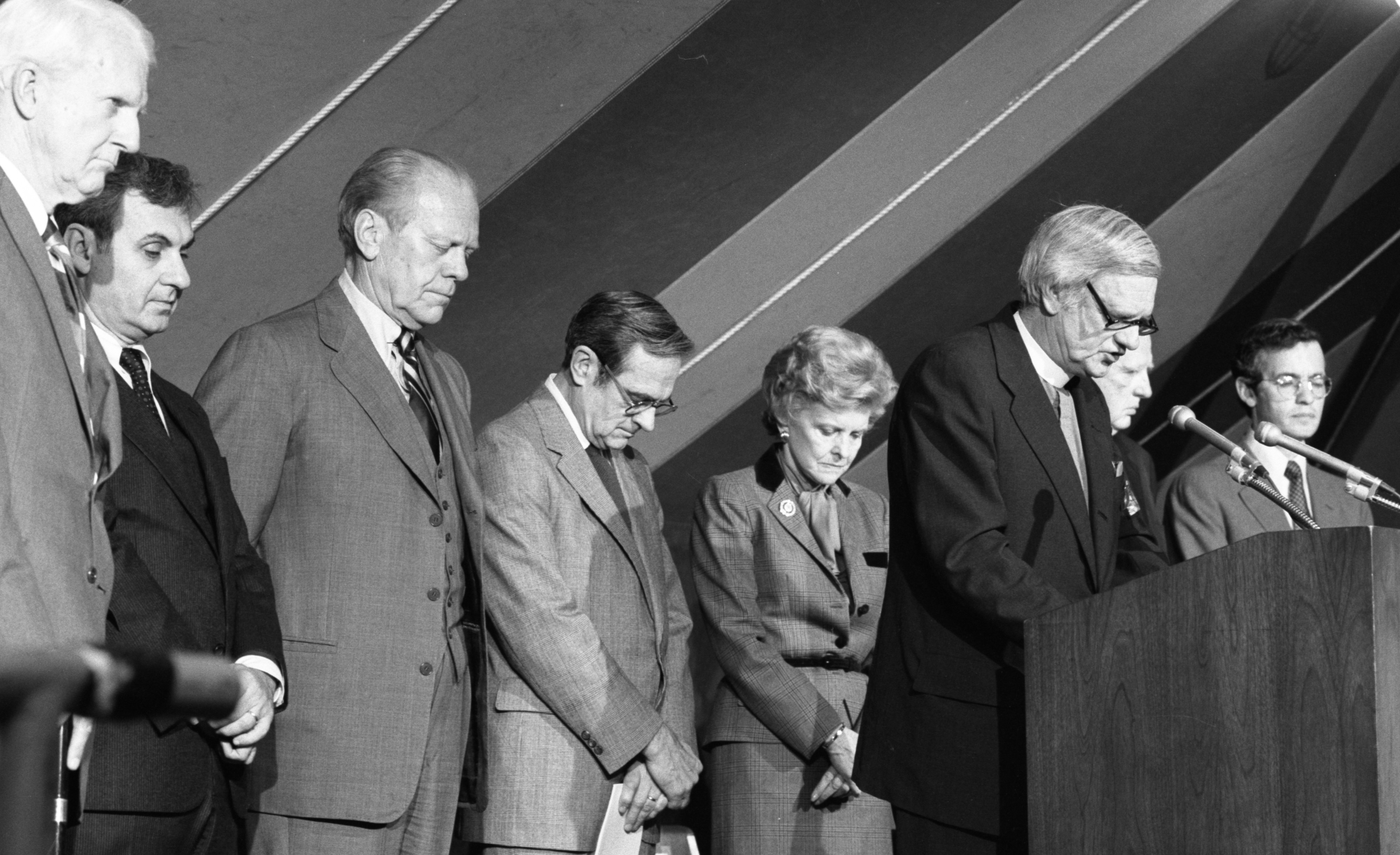 Dedication of the Gerald R. Ford Presidential Library, April 1981 image