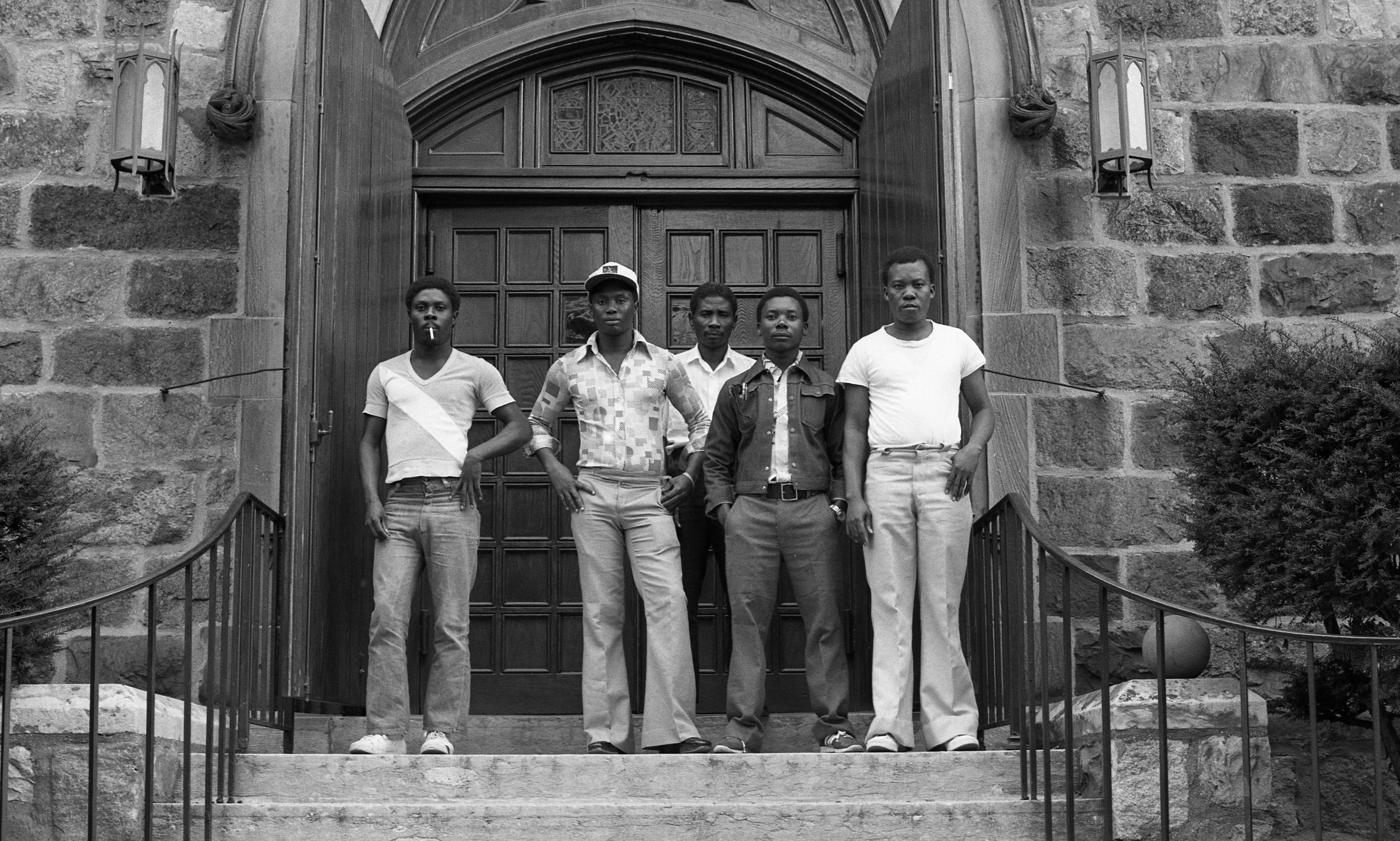 St. Andrew's Episcopal Church Sponsors Five Haitian Political Refugees, October 1982 image