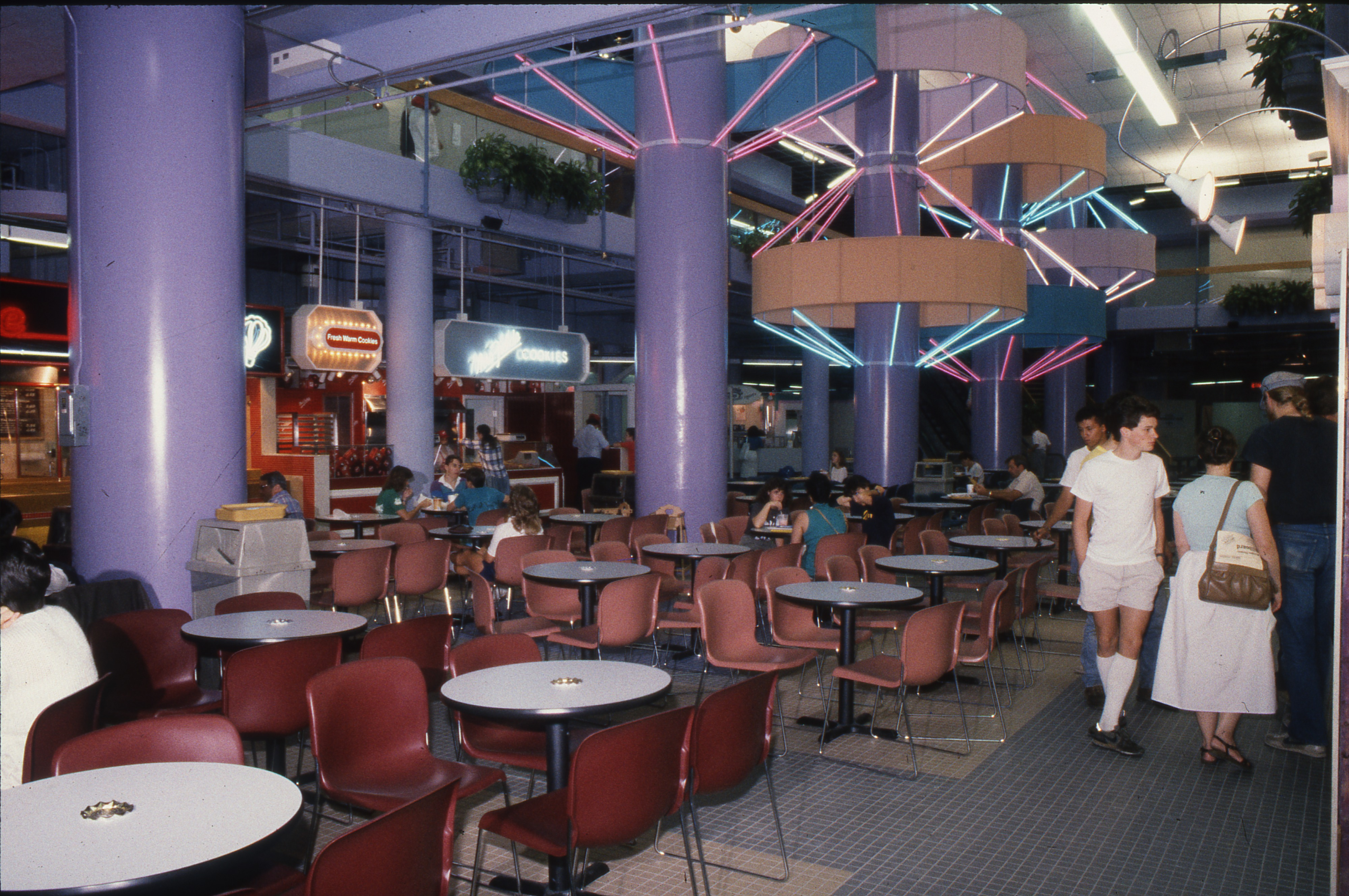 Tally Hall Food Court, July 23, 1986 image