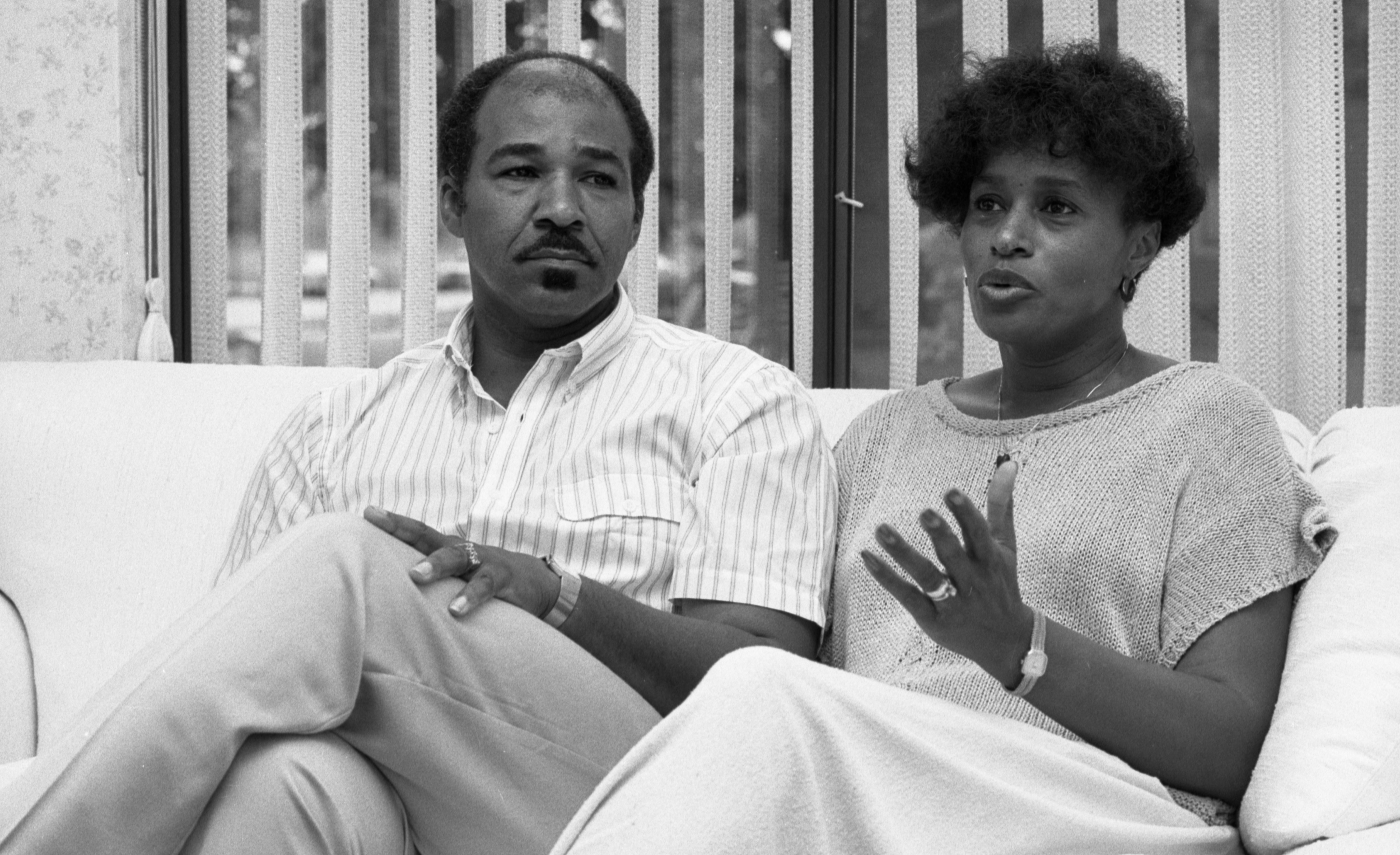 Grant & Charlina Stewart Discuss The Ann Arbor Public School System, September 1987 image