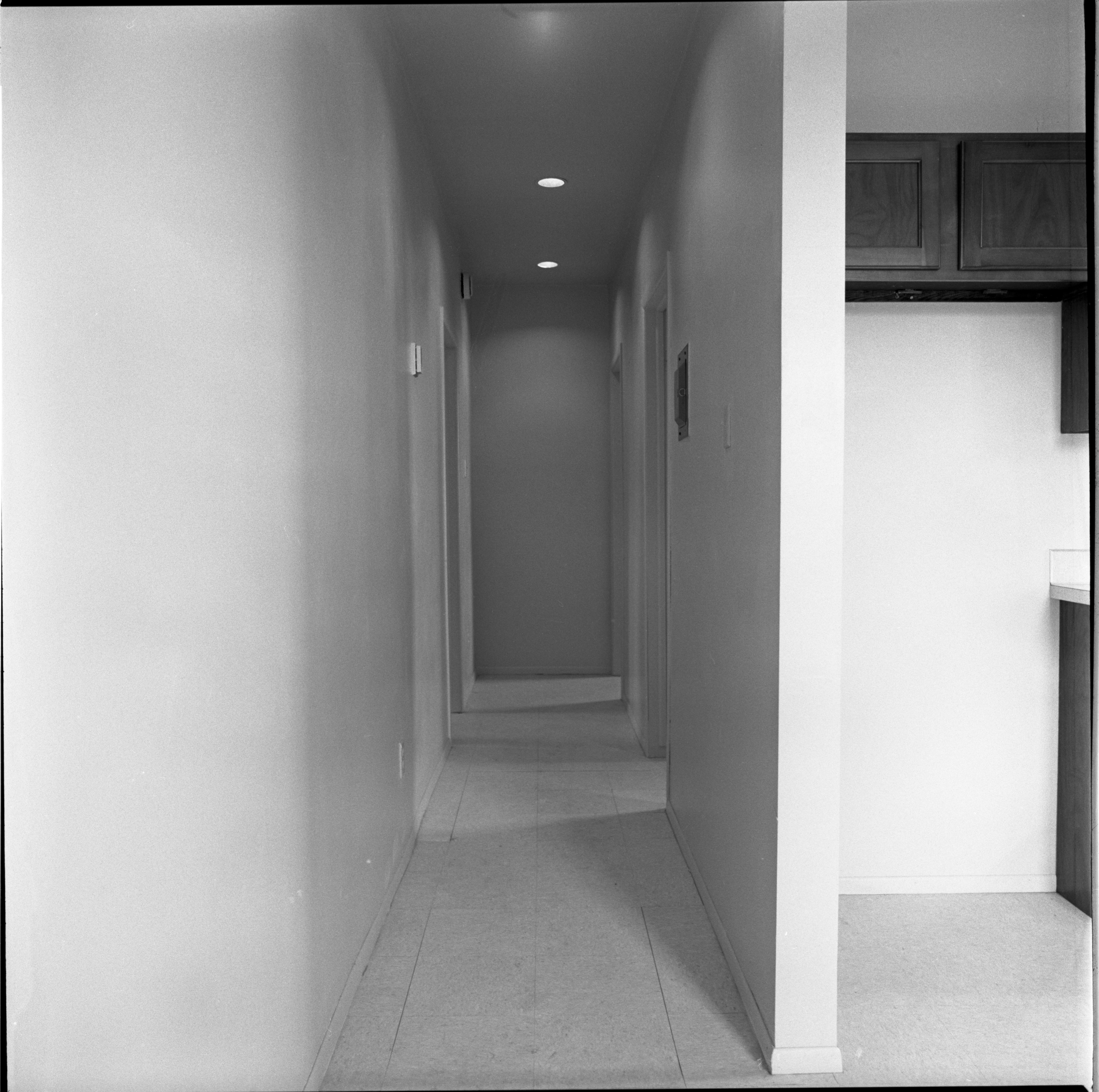 Hallway In New Apartments At 724 N Fifth Ave, March 21, 1975 image