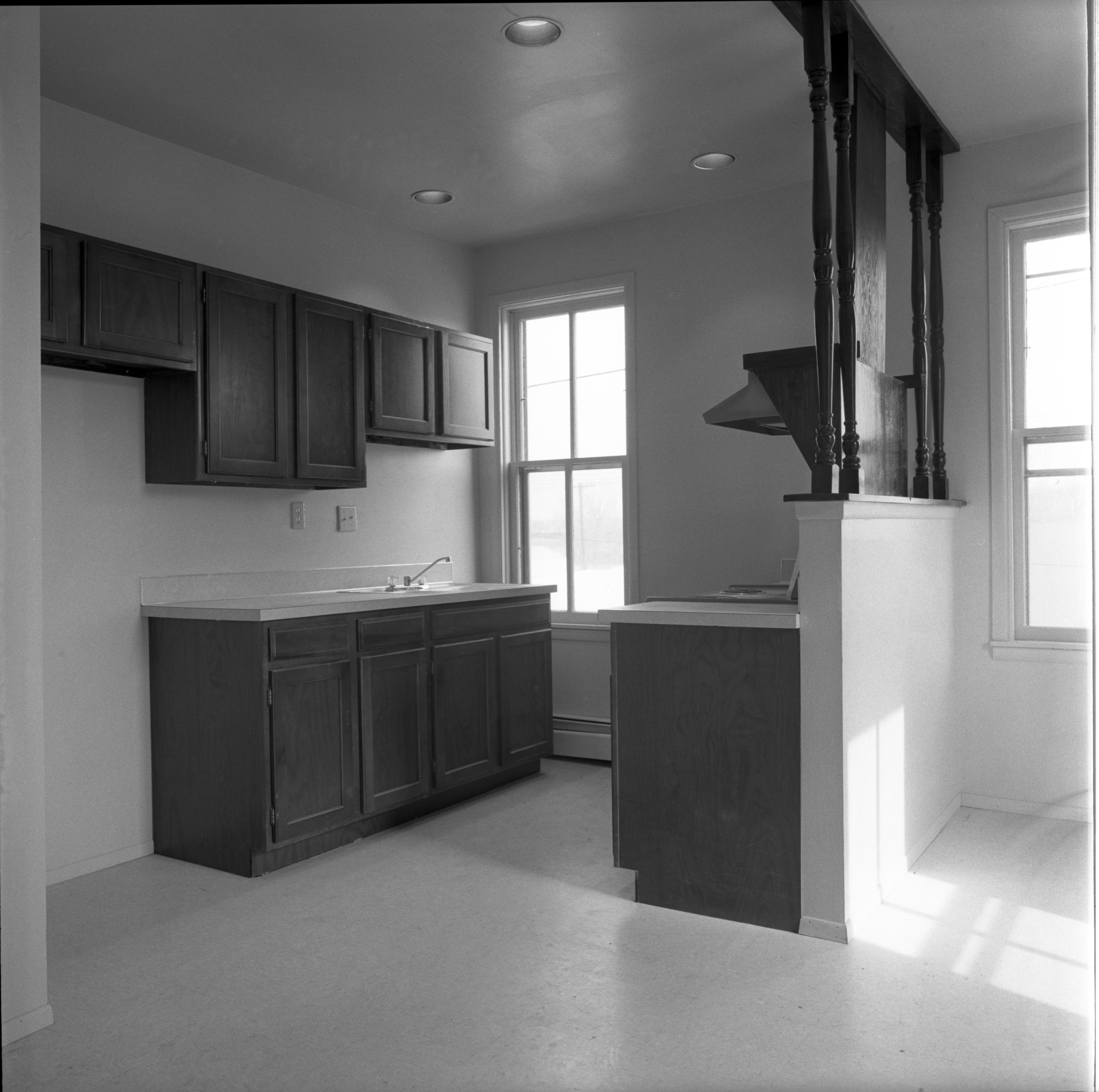Kitchen In New Apartments At 724 N Fifth Ave, March 21, 1975 image