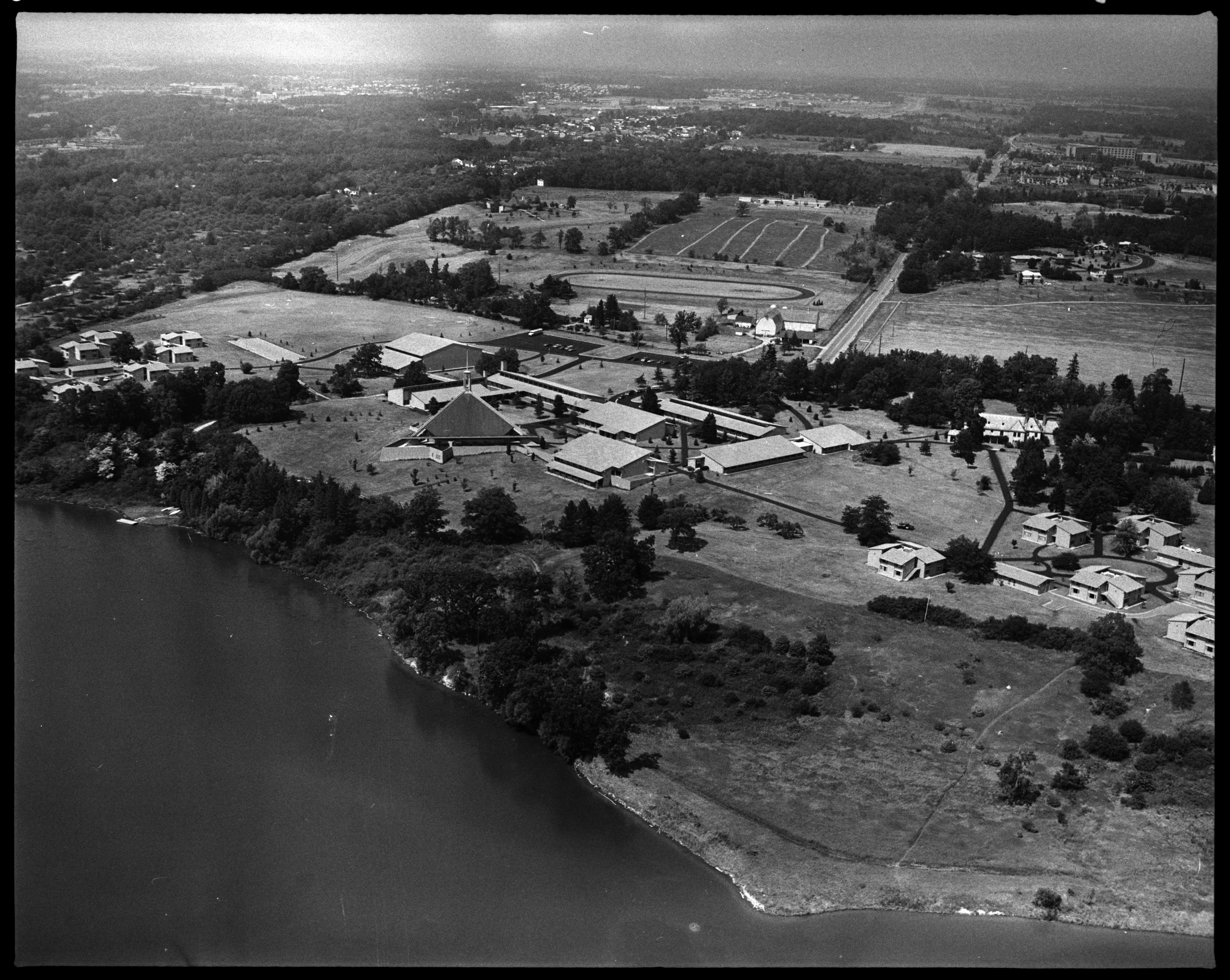 Aerial Photograph of Concordia College, September 1976 image