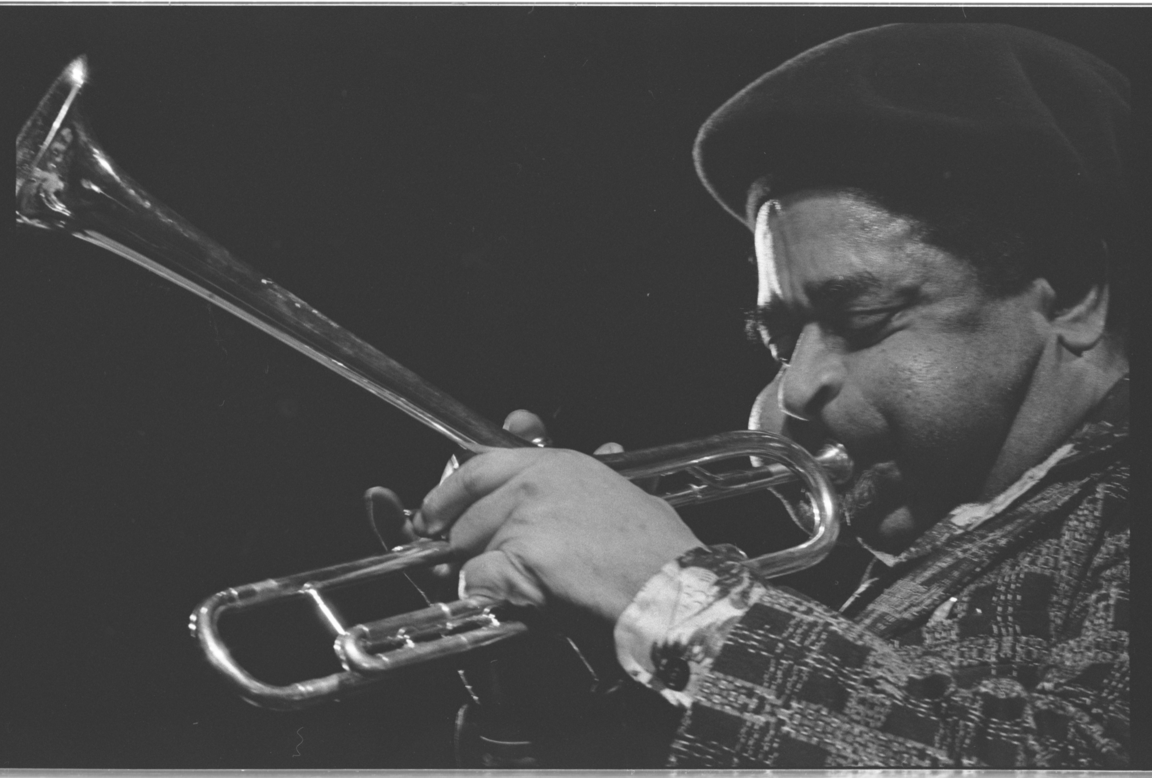 Dizzy Gillespie in Concert, Michigan League Ballroom, January 14, 1977 image