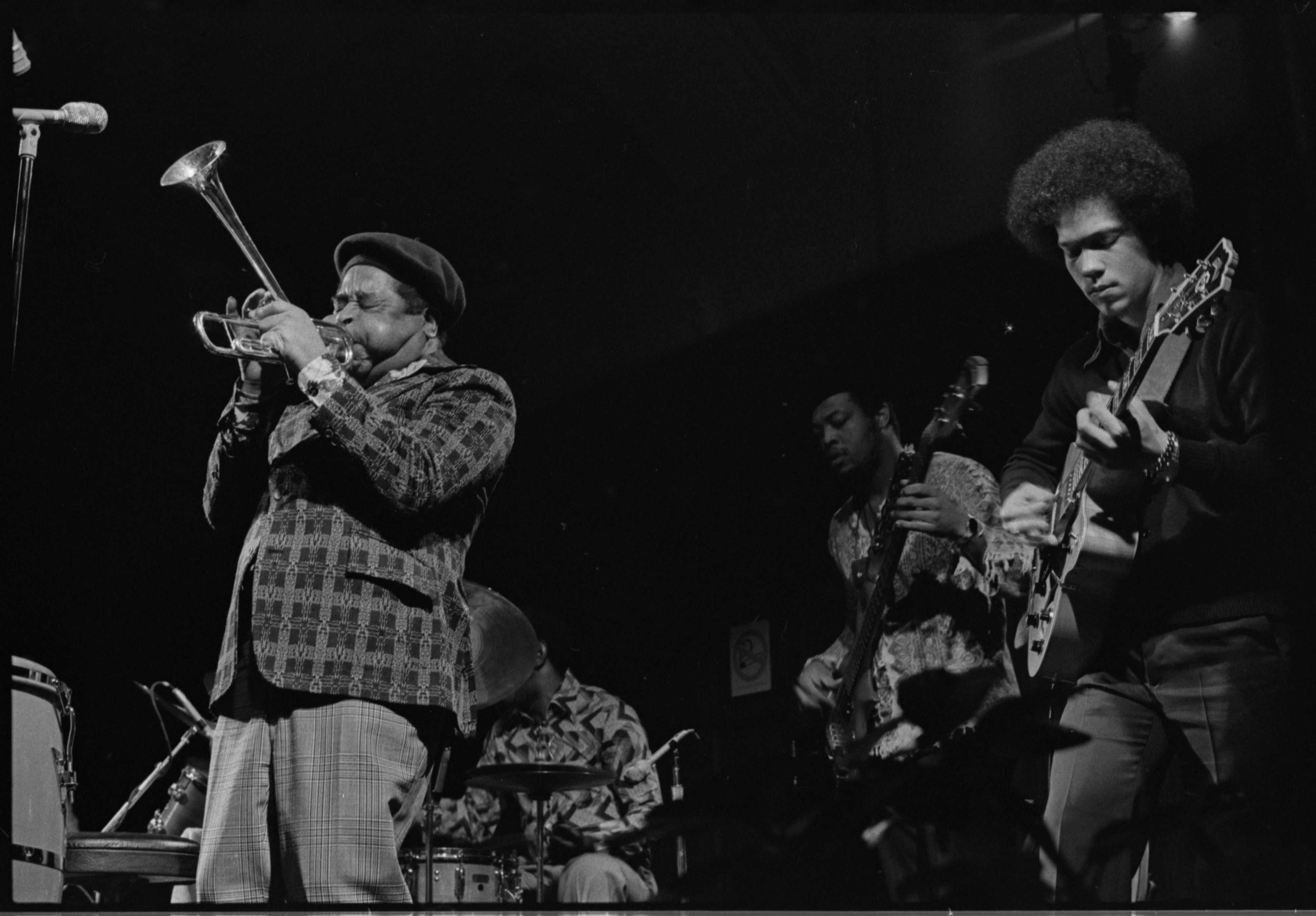 Dizzy Gillespie & His Quartet in Concert, Michigan League Ballroom, January 14, 1977 image