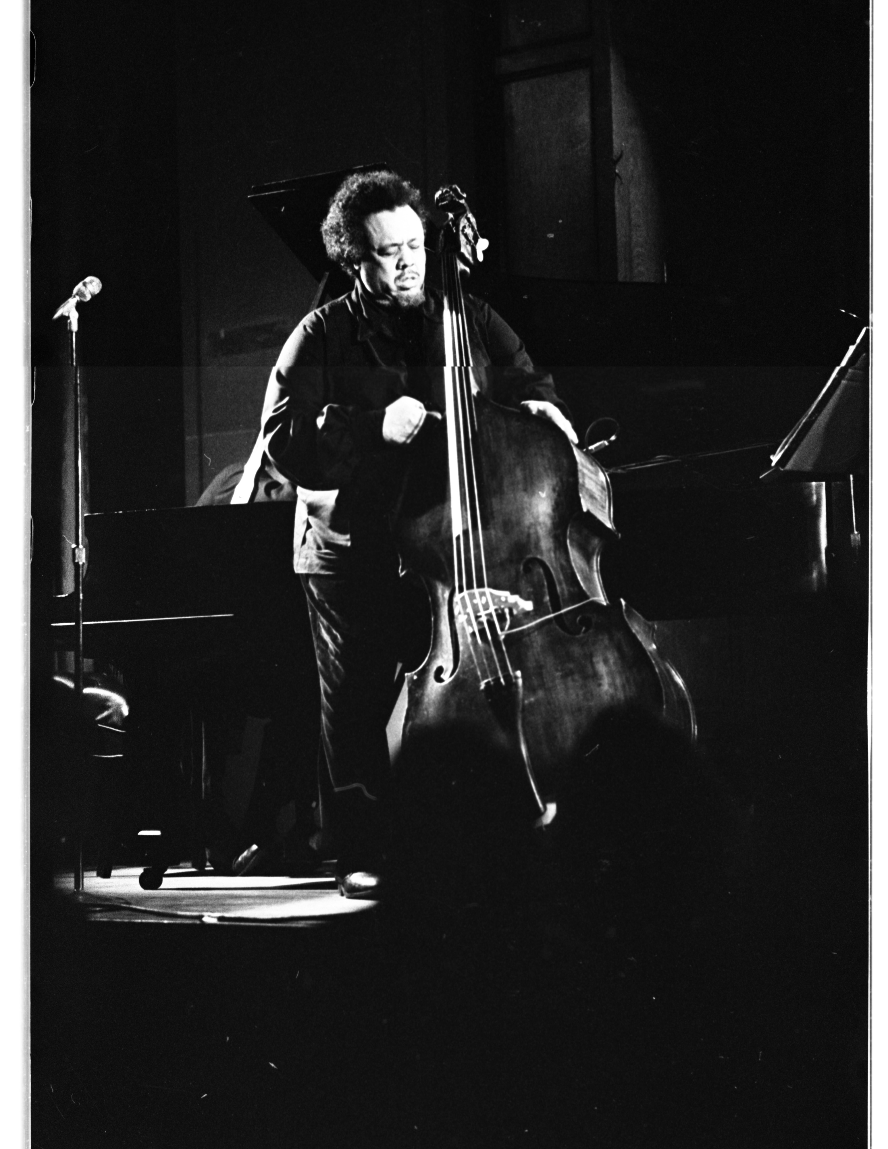 Charles Mingus in Concert, Michigan Union Ballroom, February 5, 1977 image