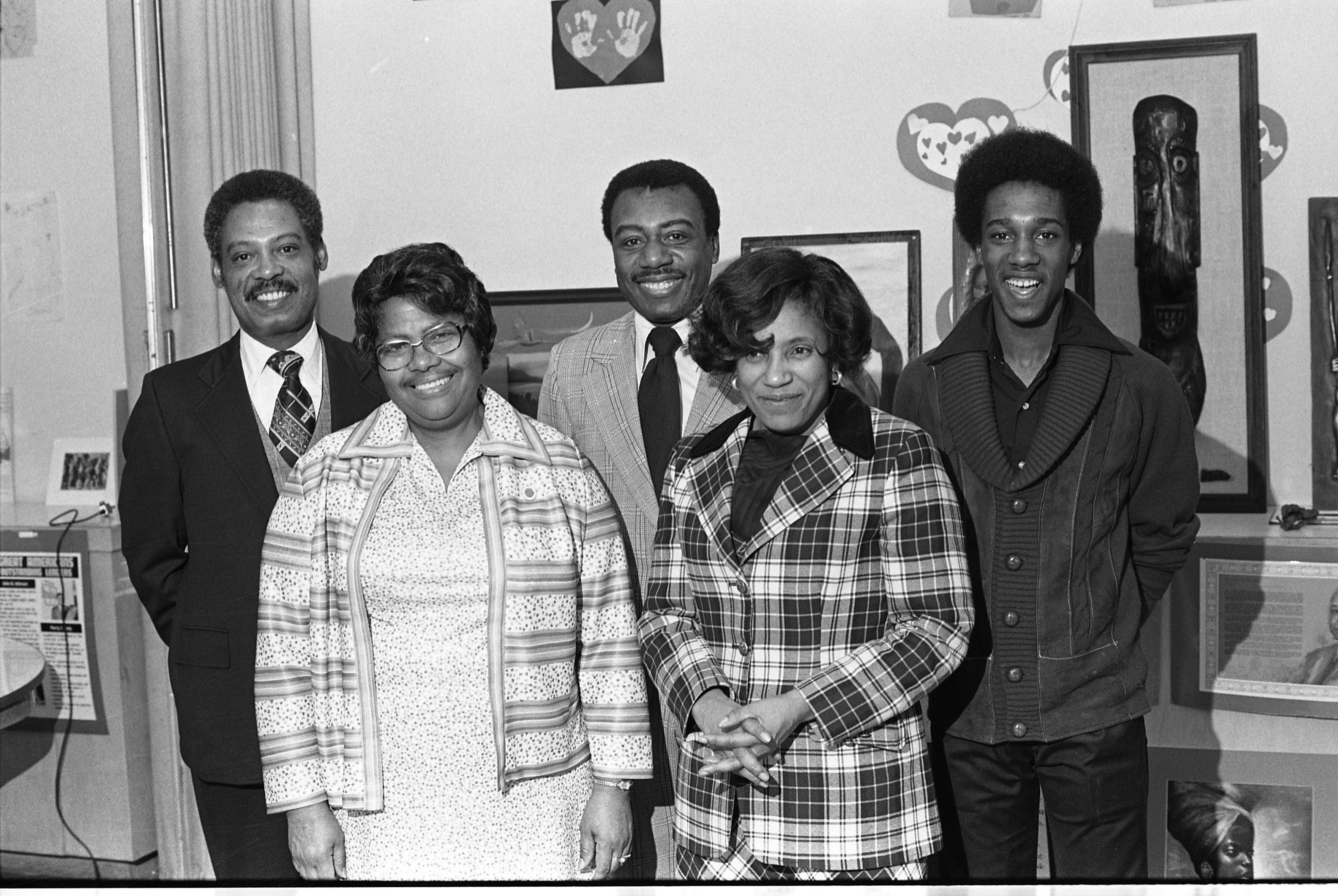 Community Service Award Winners, February 15, 1977 image