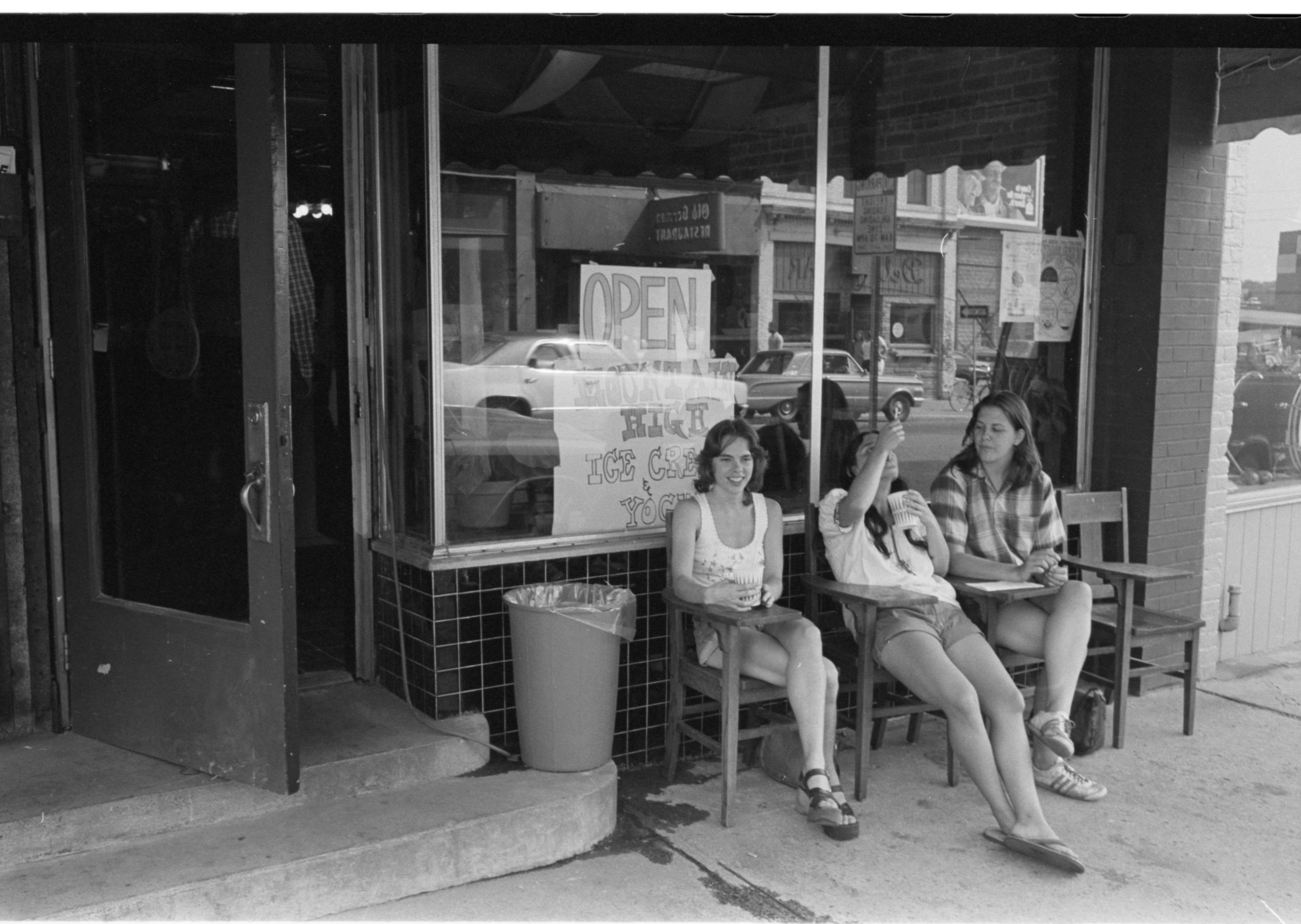 Mountain High Ice Cream Parlour, August 1974 image