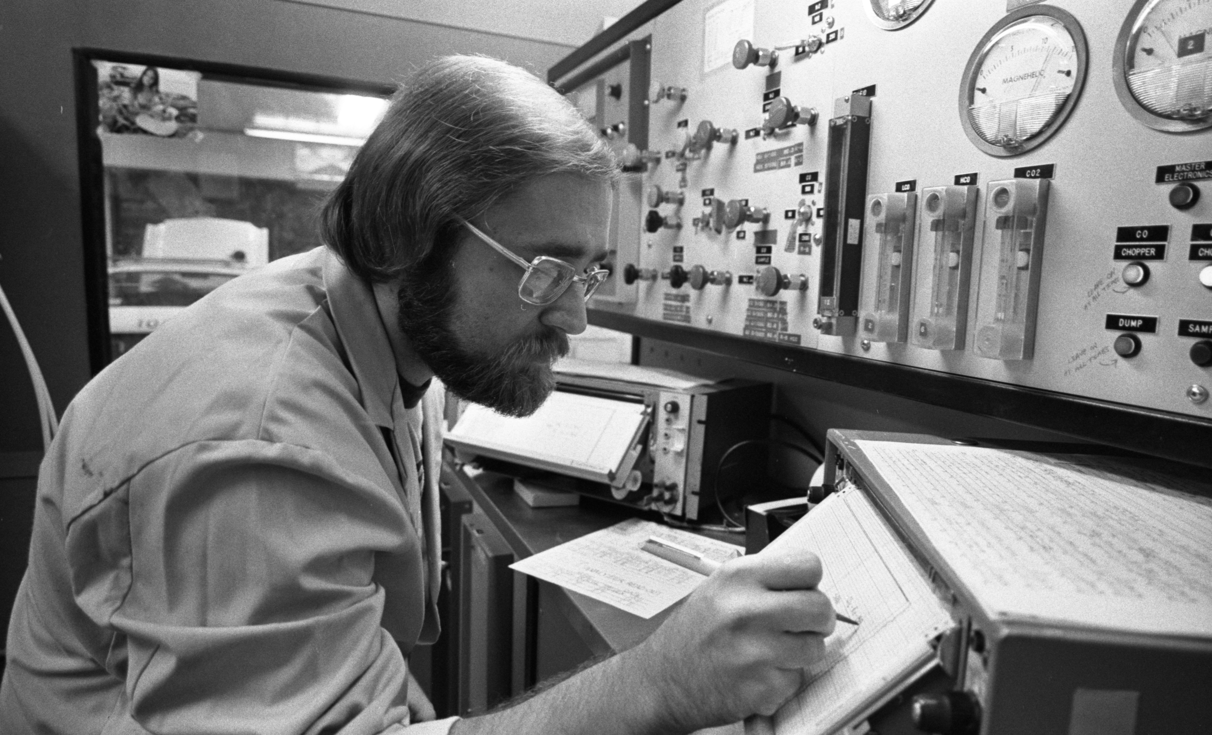 At the EPA Lab, August 1975 image