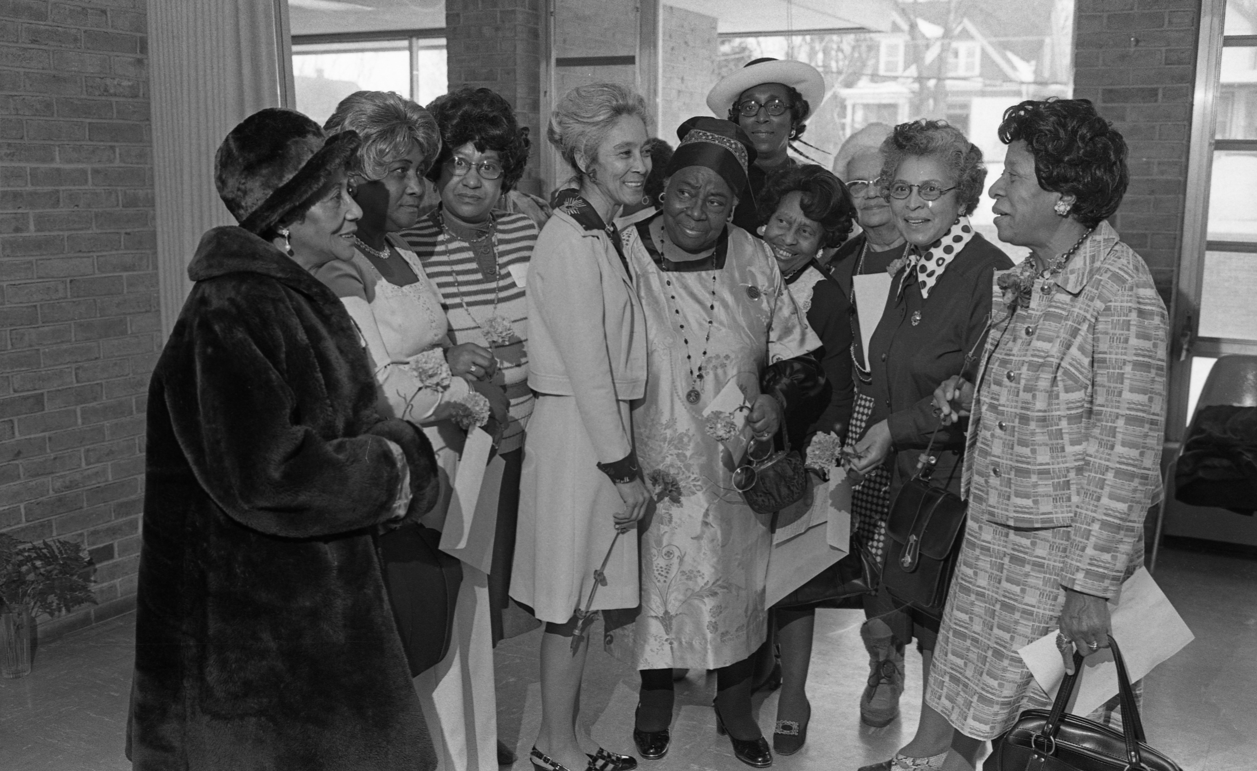 National Council of Negro Women Local Chapter Honors Black Women In Community, February 1976 image