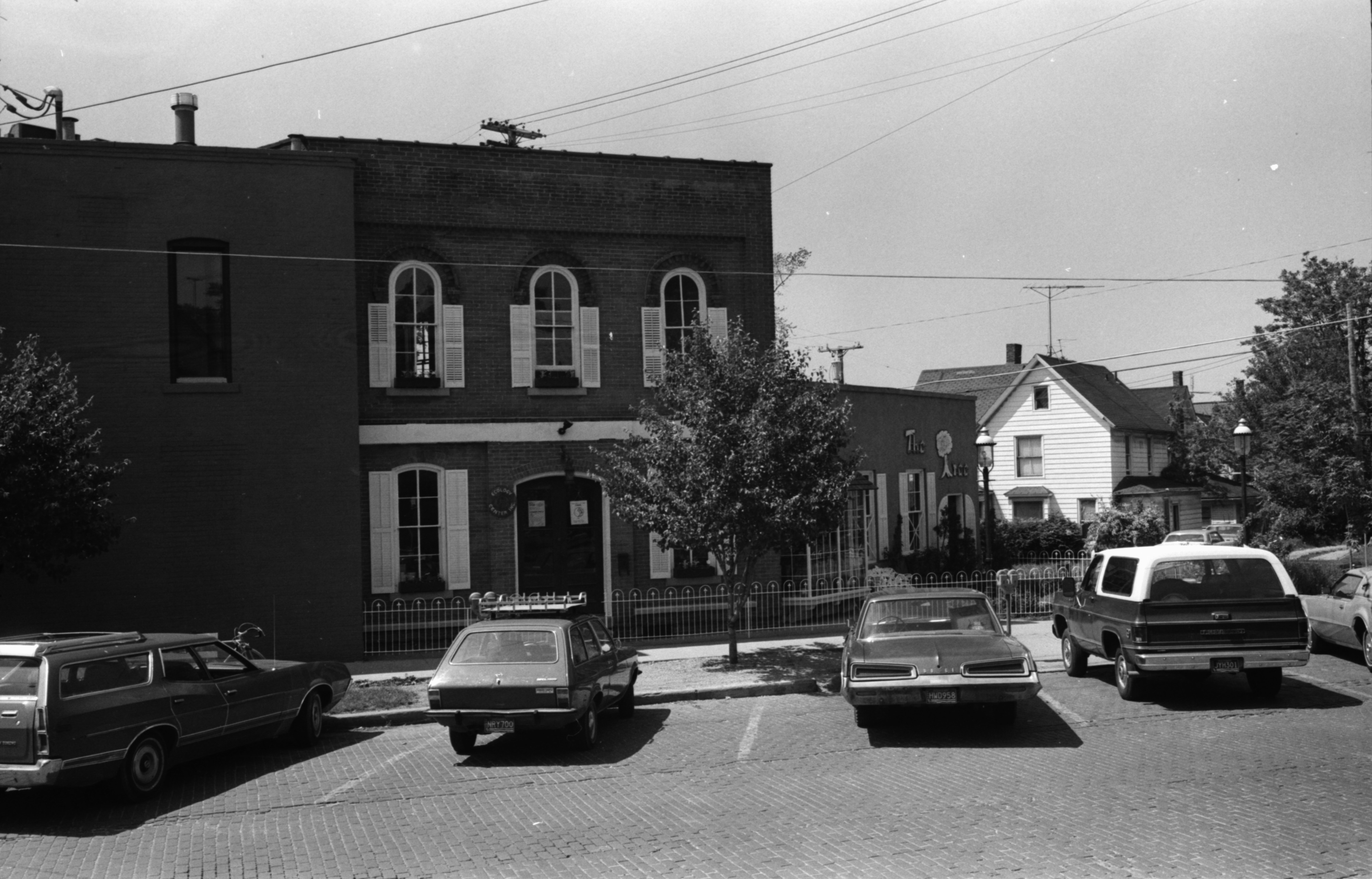View of the Ecology Center and The Tree on Detroit Street, June 1976 image