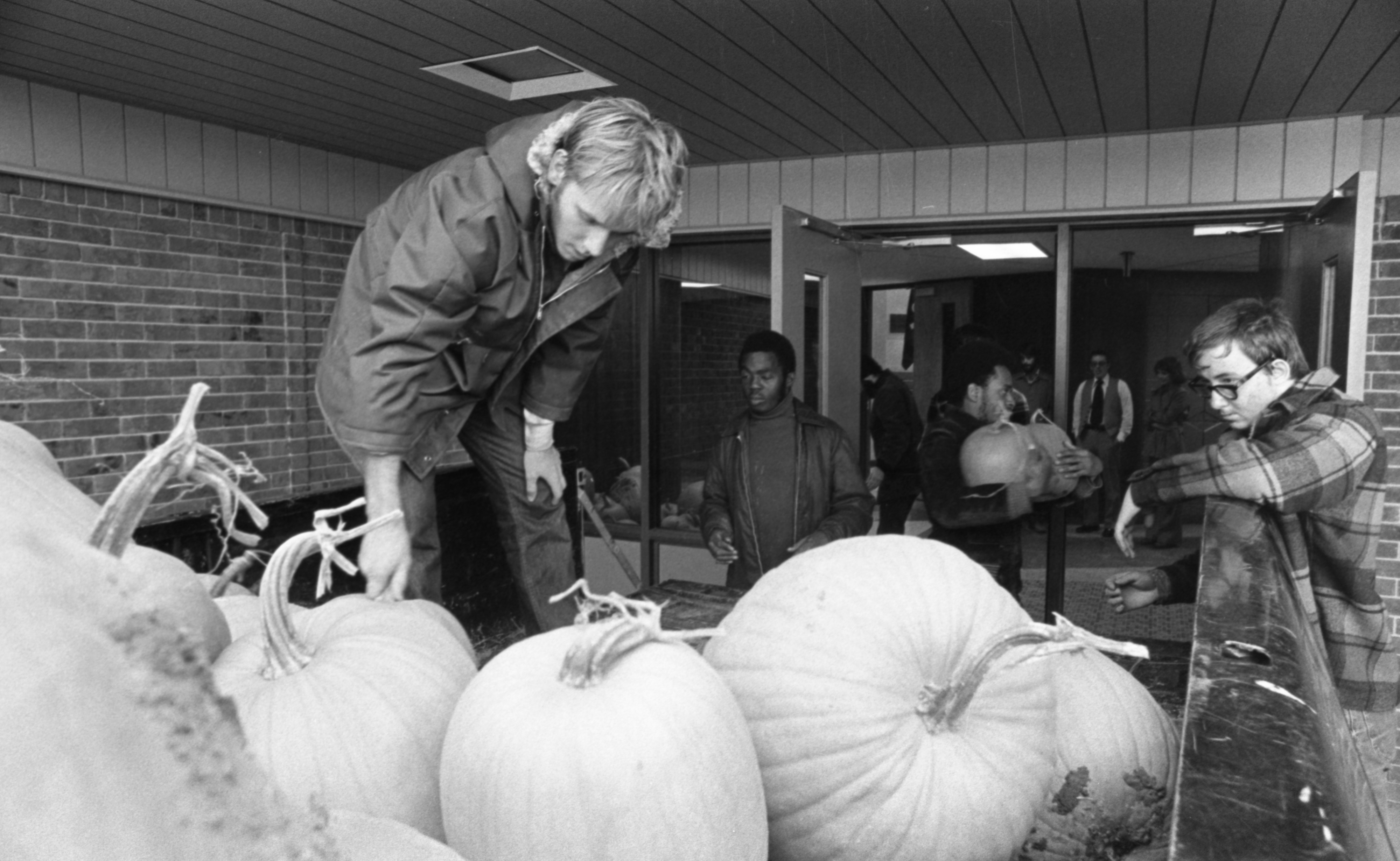 Unloading Pumpkins For The High Point Fall Art Fair, October 1976 image