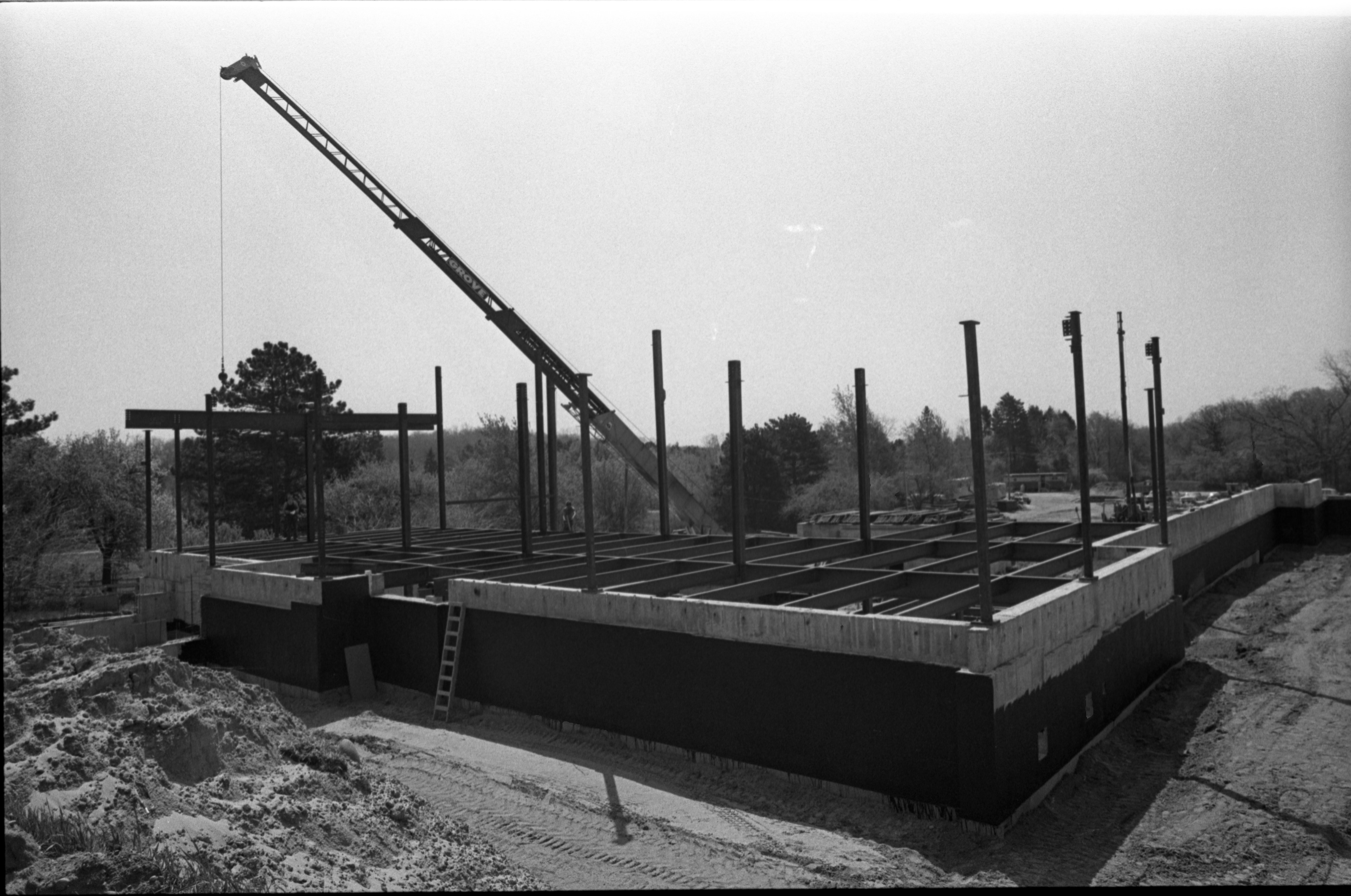 Construction Site For The Gerald R. Ford Presidential Library, May 11, 1979 image
