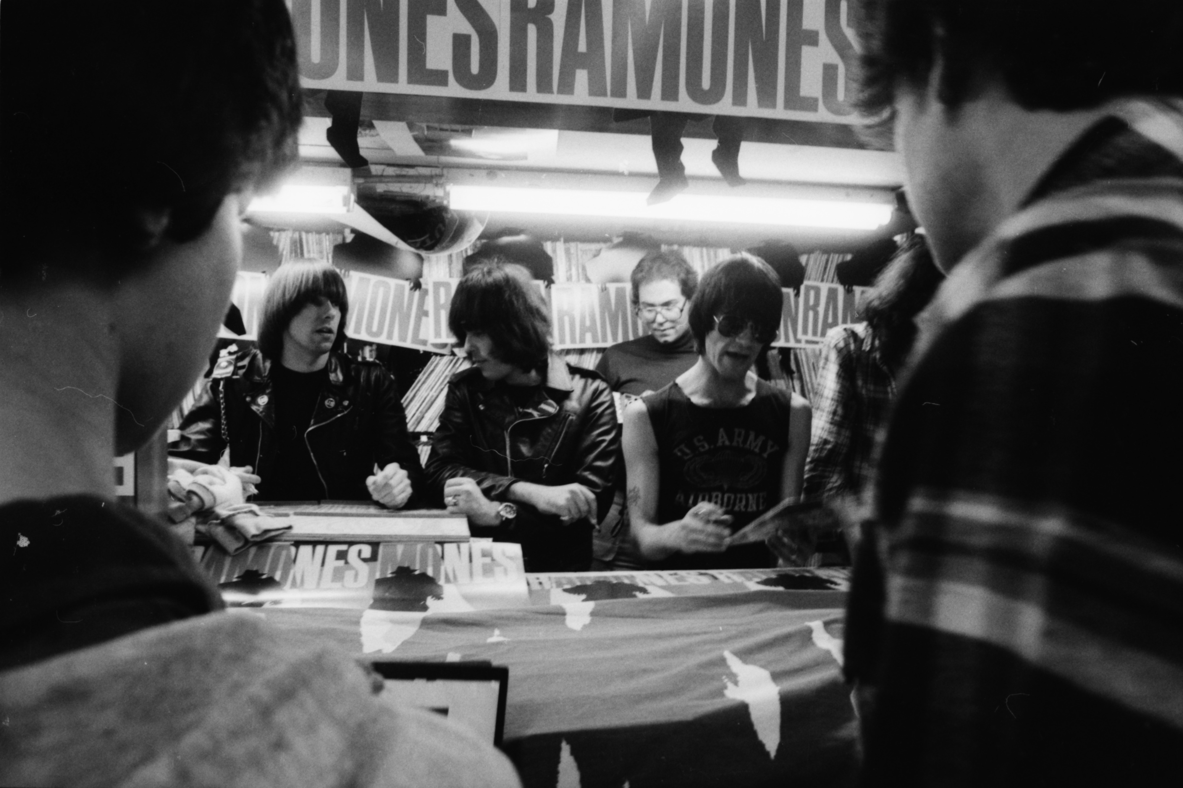 The Ramones at Schoolkids' Records, October 5, 1981 image