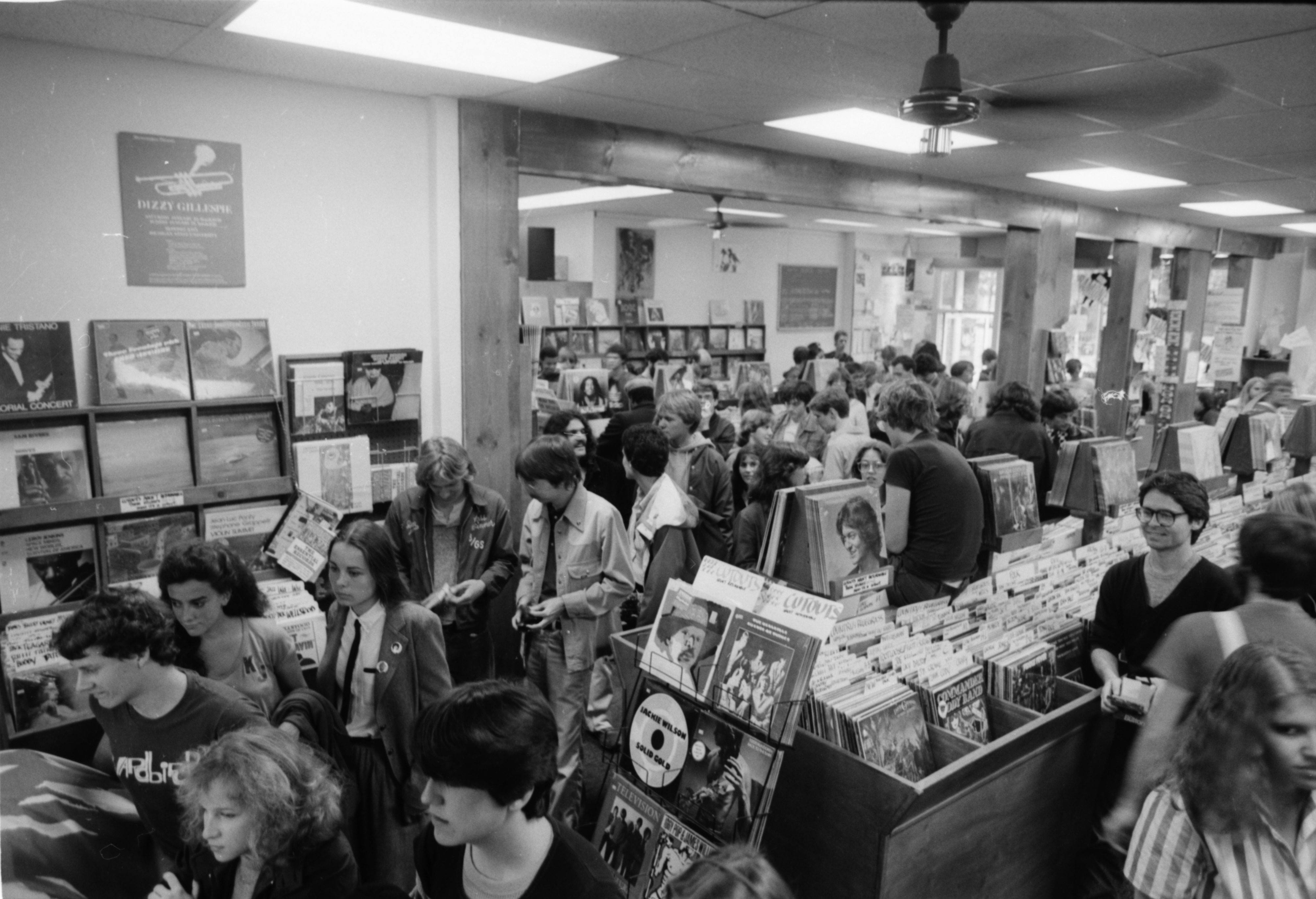 Ramones Fans at Schoolkids' Records, October 5, 1981 image