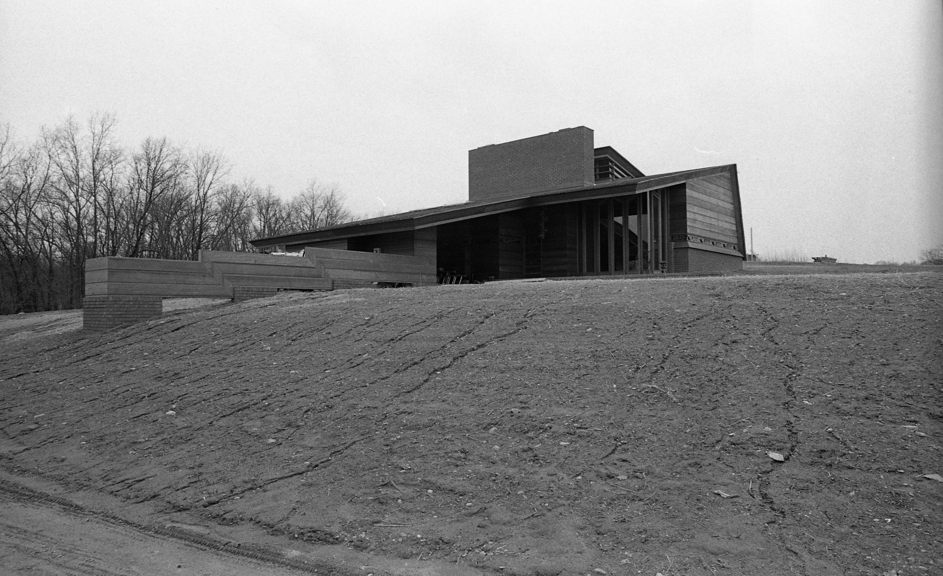 Frank Lloyd Wright Designed Home, April 1980 image