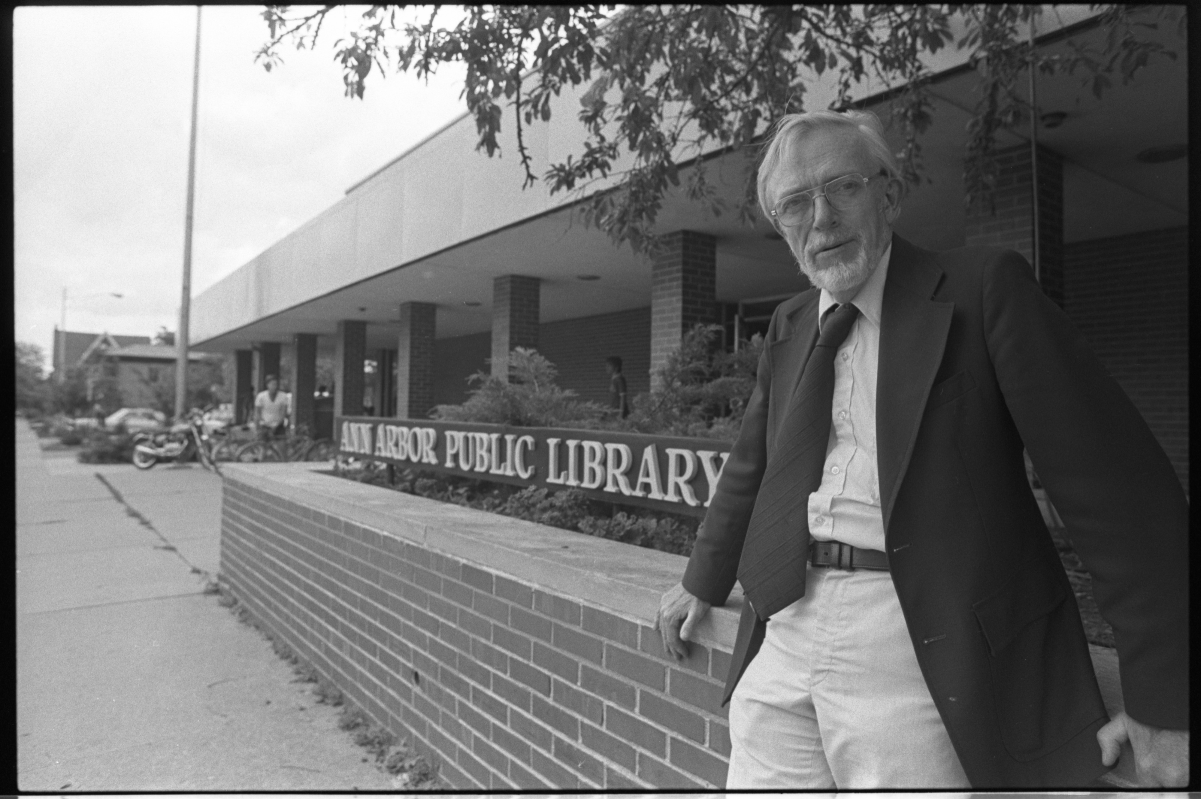 Gene Wilson, Director Of The Ann Arbor Public Library, July 1980 image