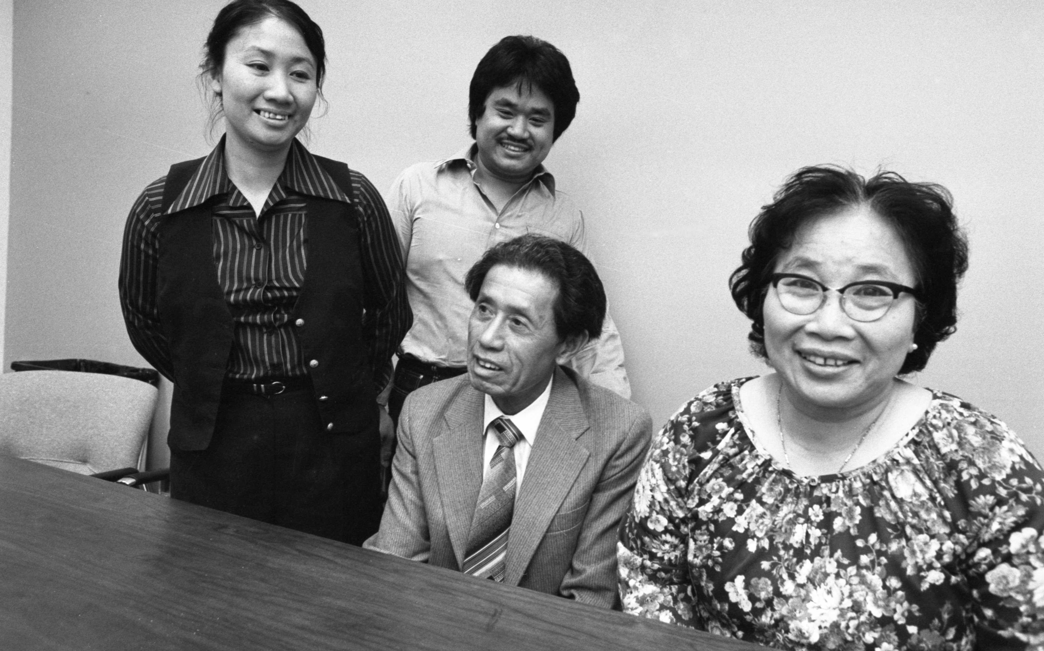Chinese Family, Separated For 30 Years, Reunited In Michigan, June 1981 image