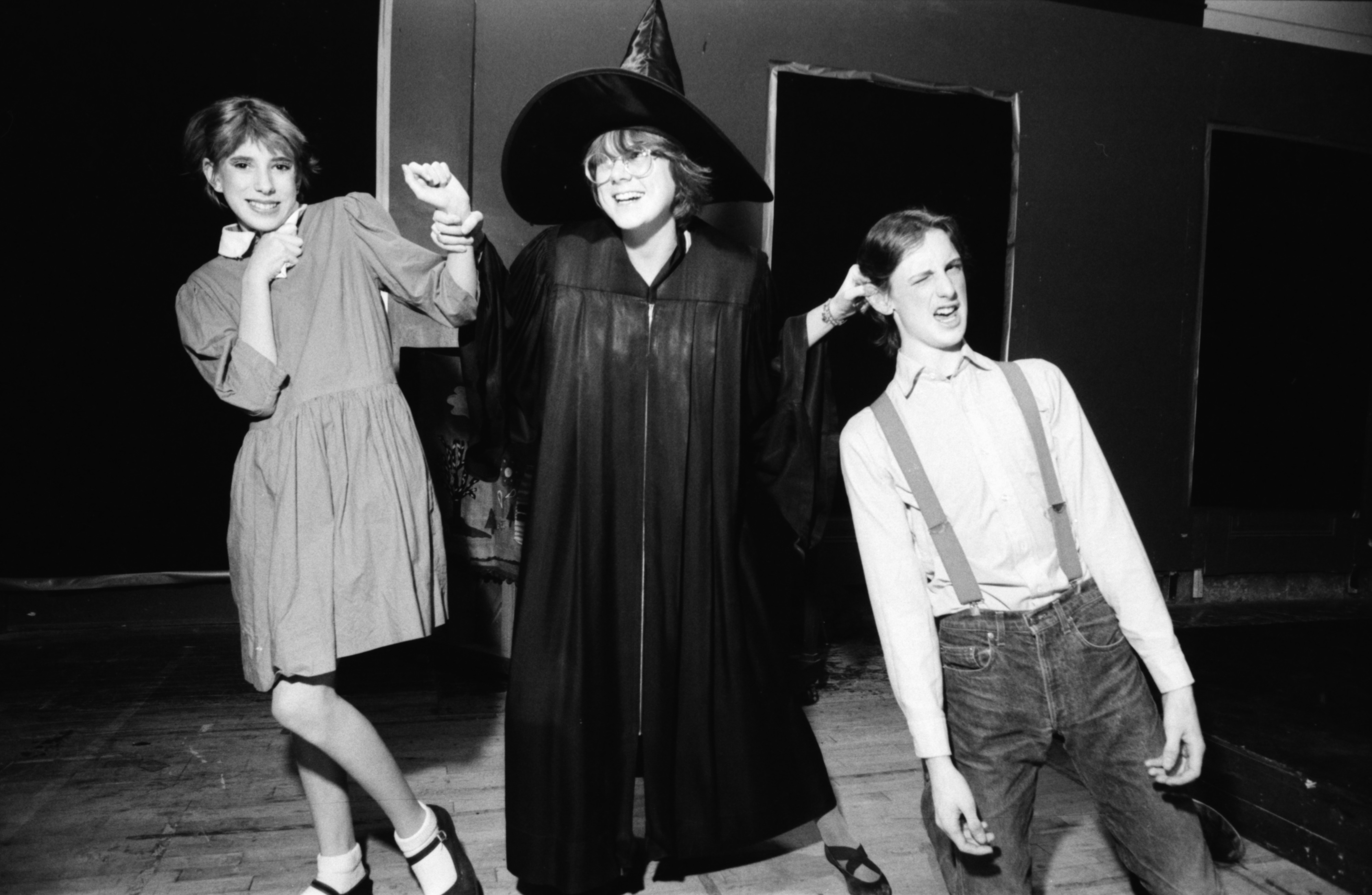 "Community High Students Perform ""Hansel and Gretel"" at the Civic Theater, December 1986 image"