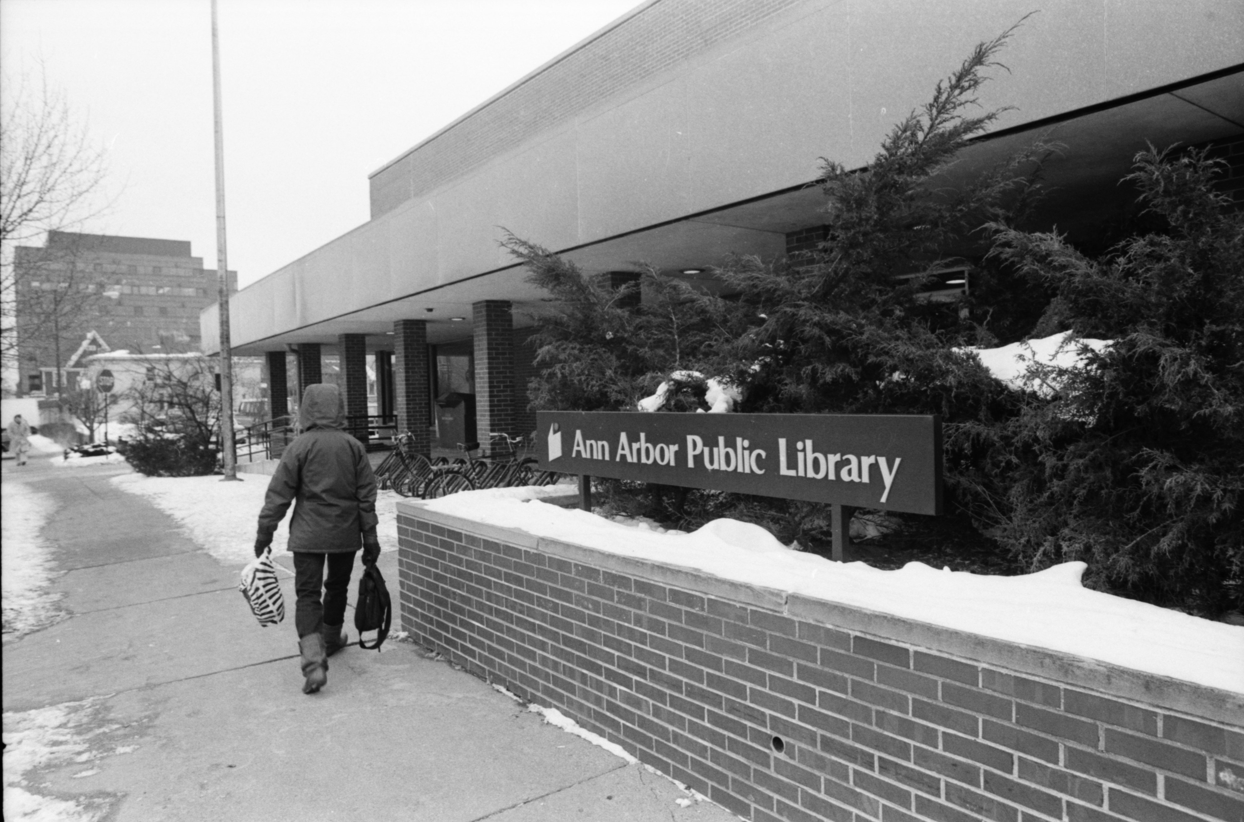 Ann Arbor Public Library, January 1988 image