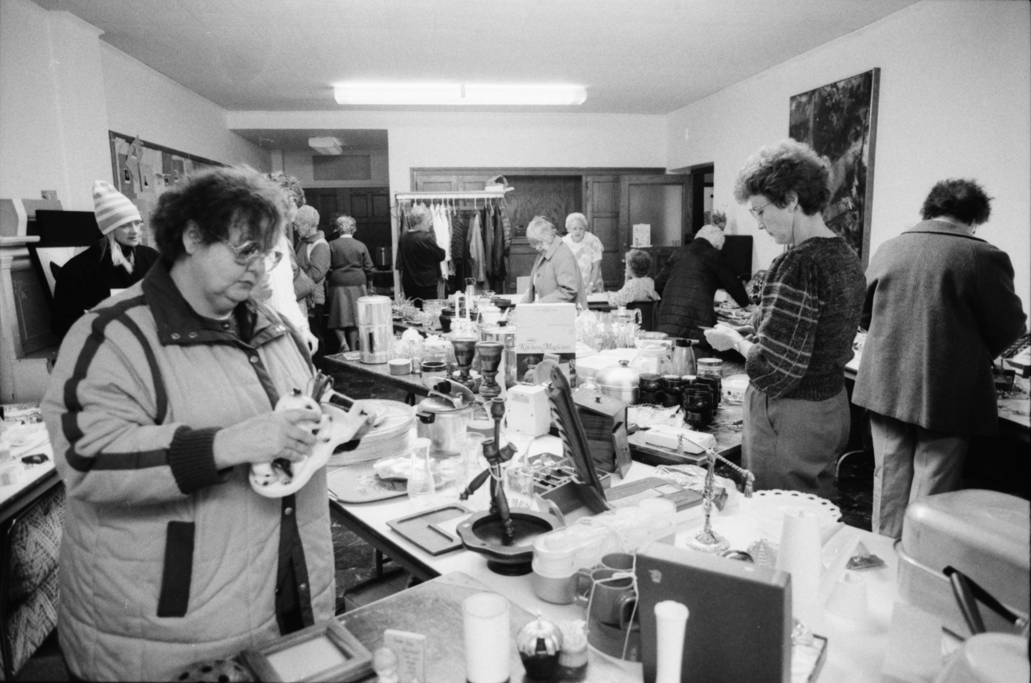 Attic Sale to Benefit House by the Side of the Road, October 1988 image
