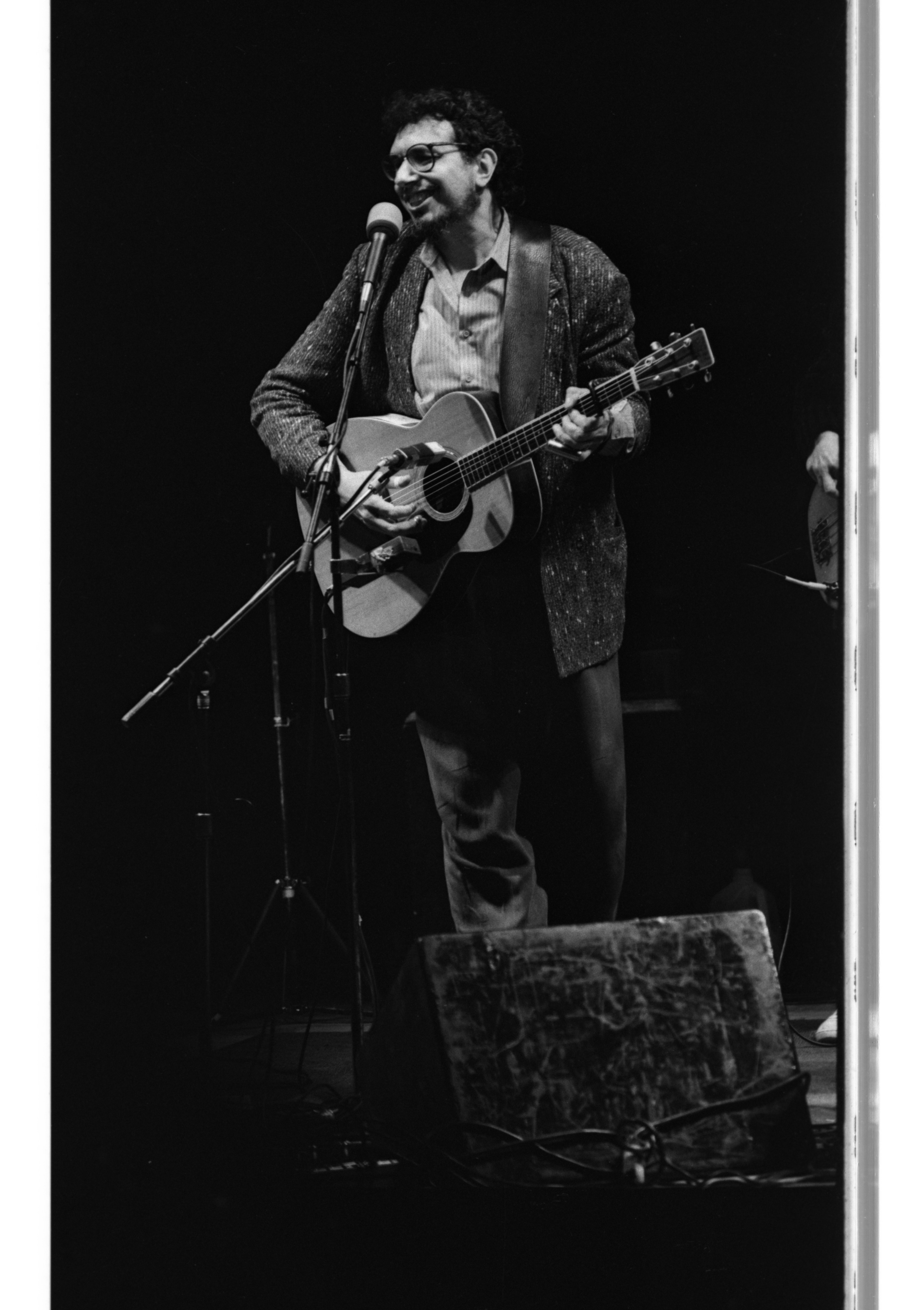 David Bromberg at the Ann Arbor Folk Festival, January 1989 image