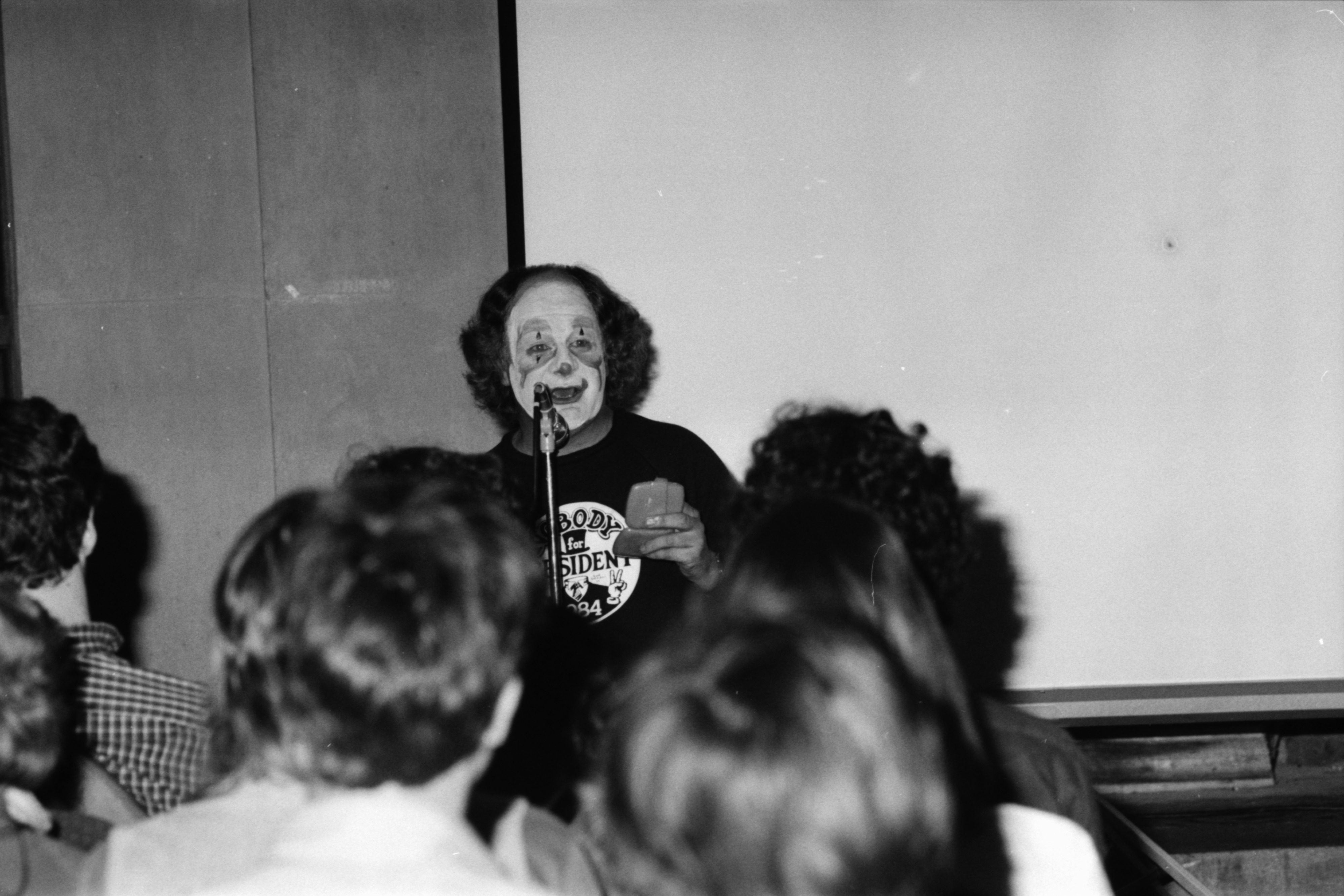 Wavy Gravy at the Michigan Union, February 1984 image