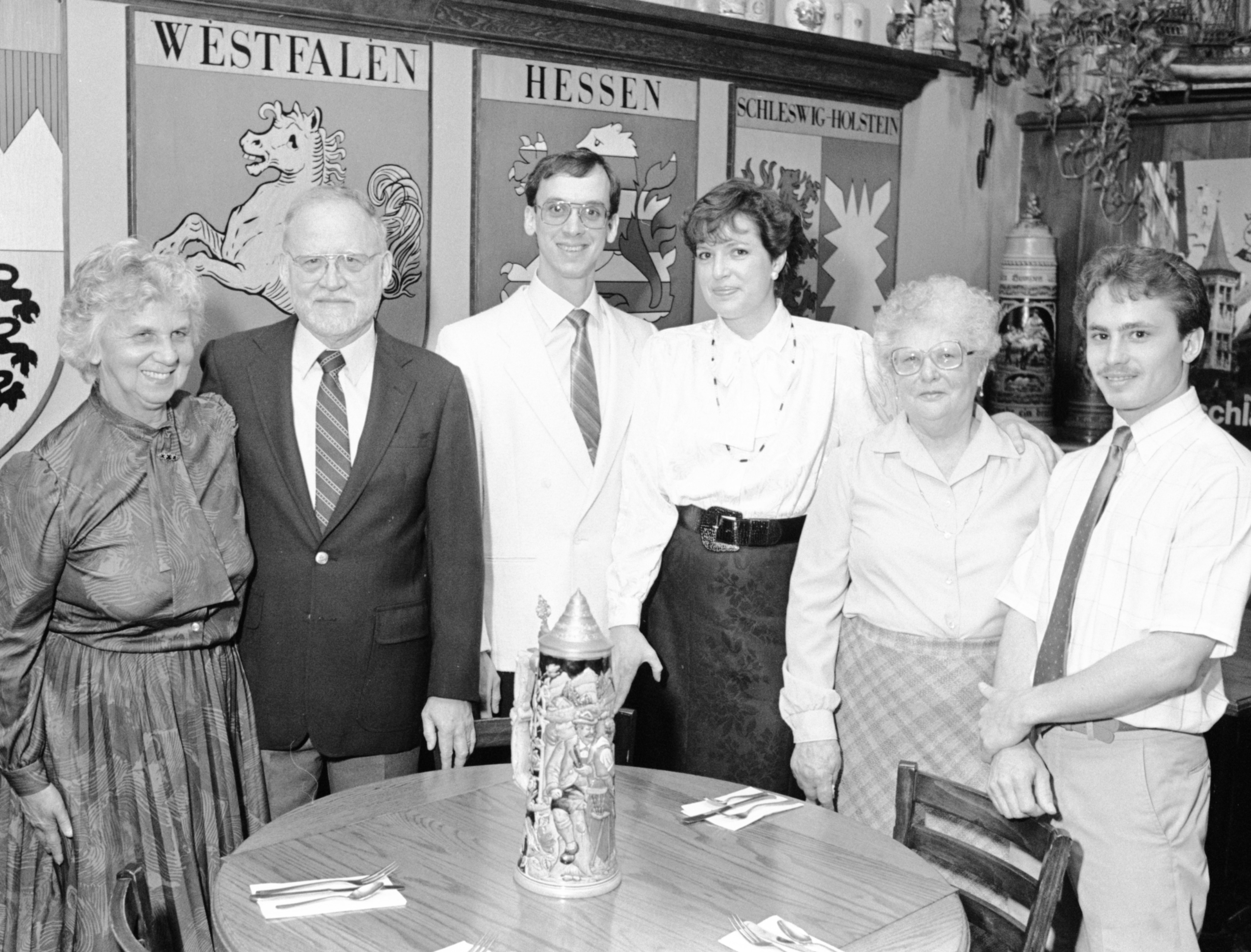Metzger's Restaurant Celebrates Diamond Anniversary, April 1988 image