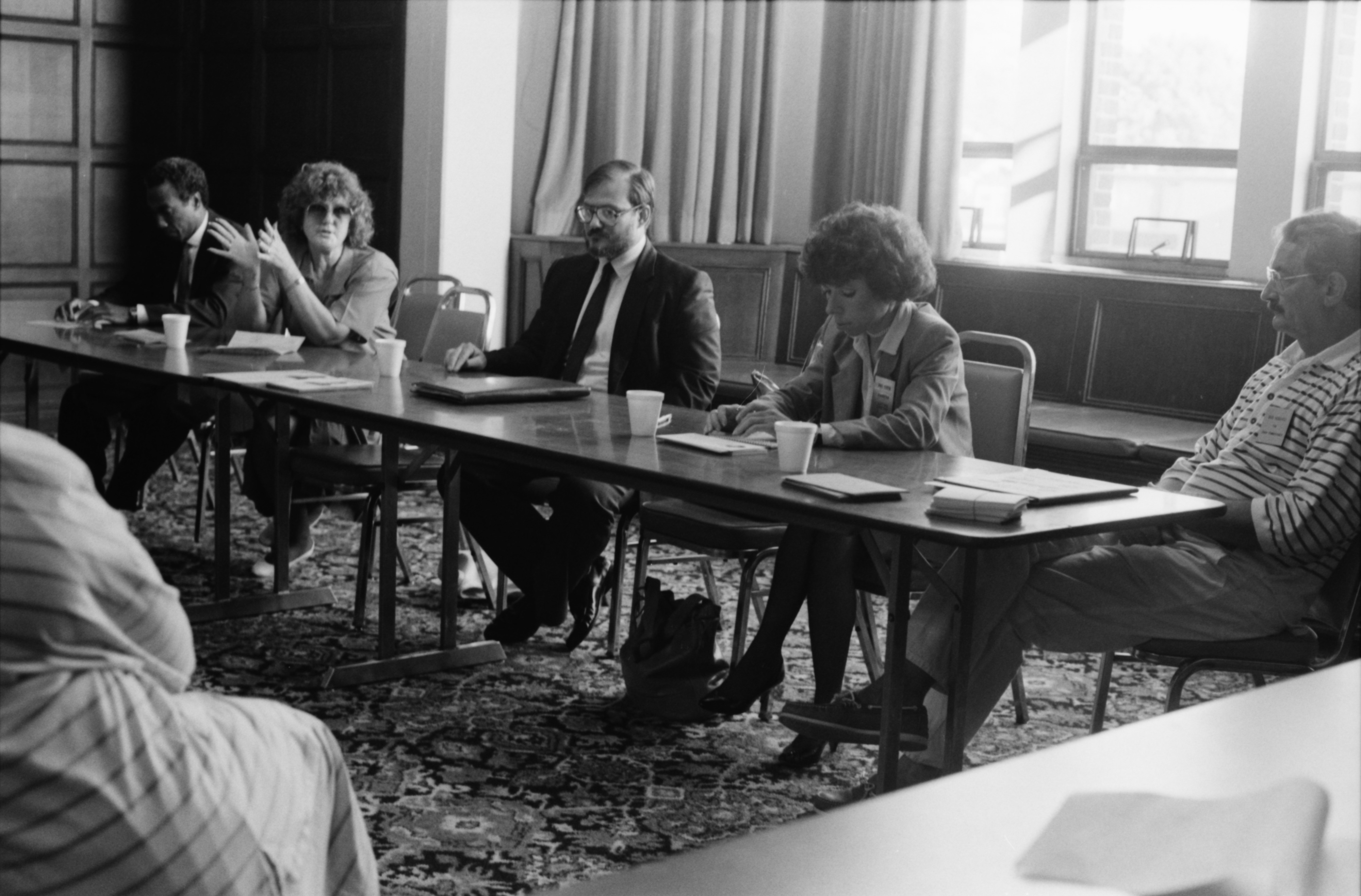 Ypsilanti Democrats Hold Meeting, February 1988 image