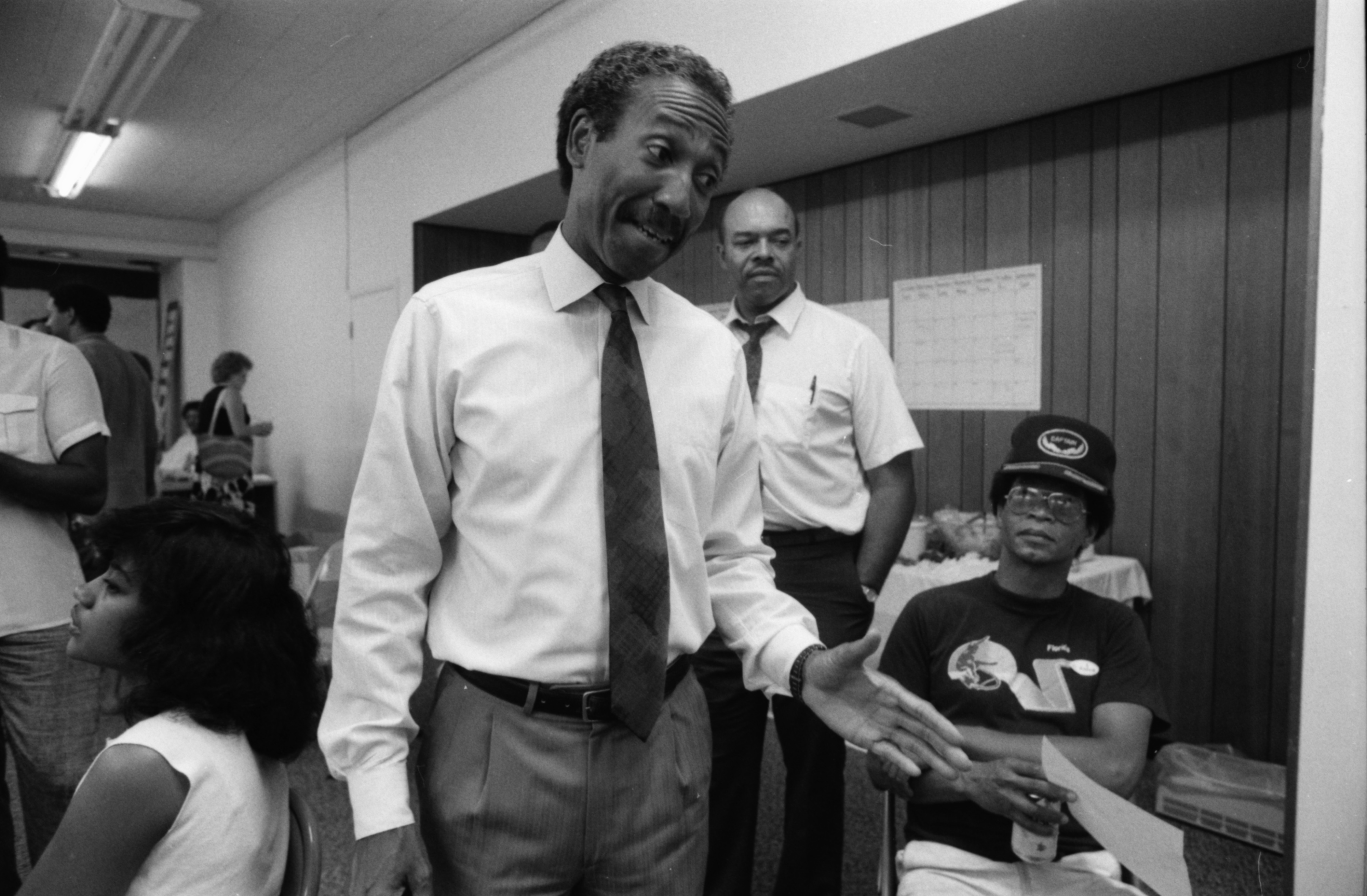 David Rutledge Concedes to Kirk Profit in Democratic Primary, August 1988 image