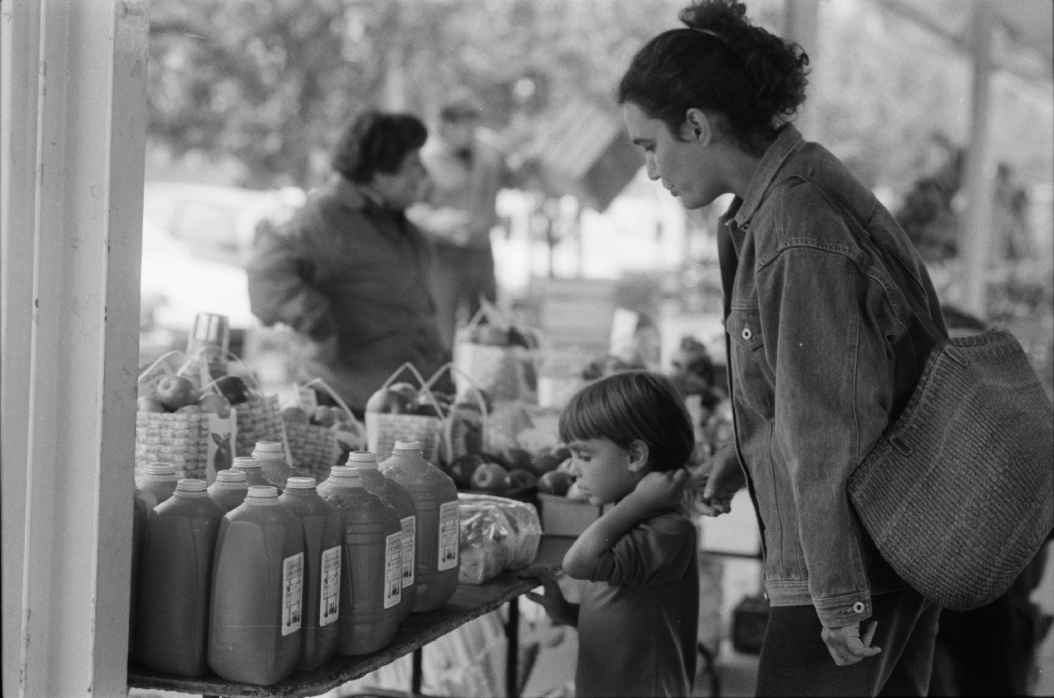 Fall At The Ann Arbor Farmers Market, October 1988 image