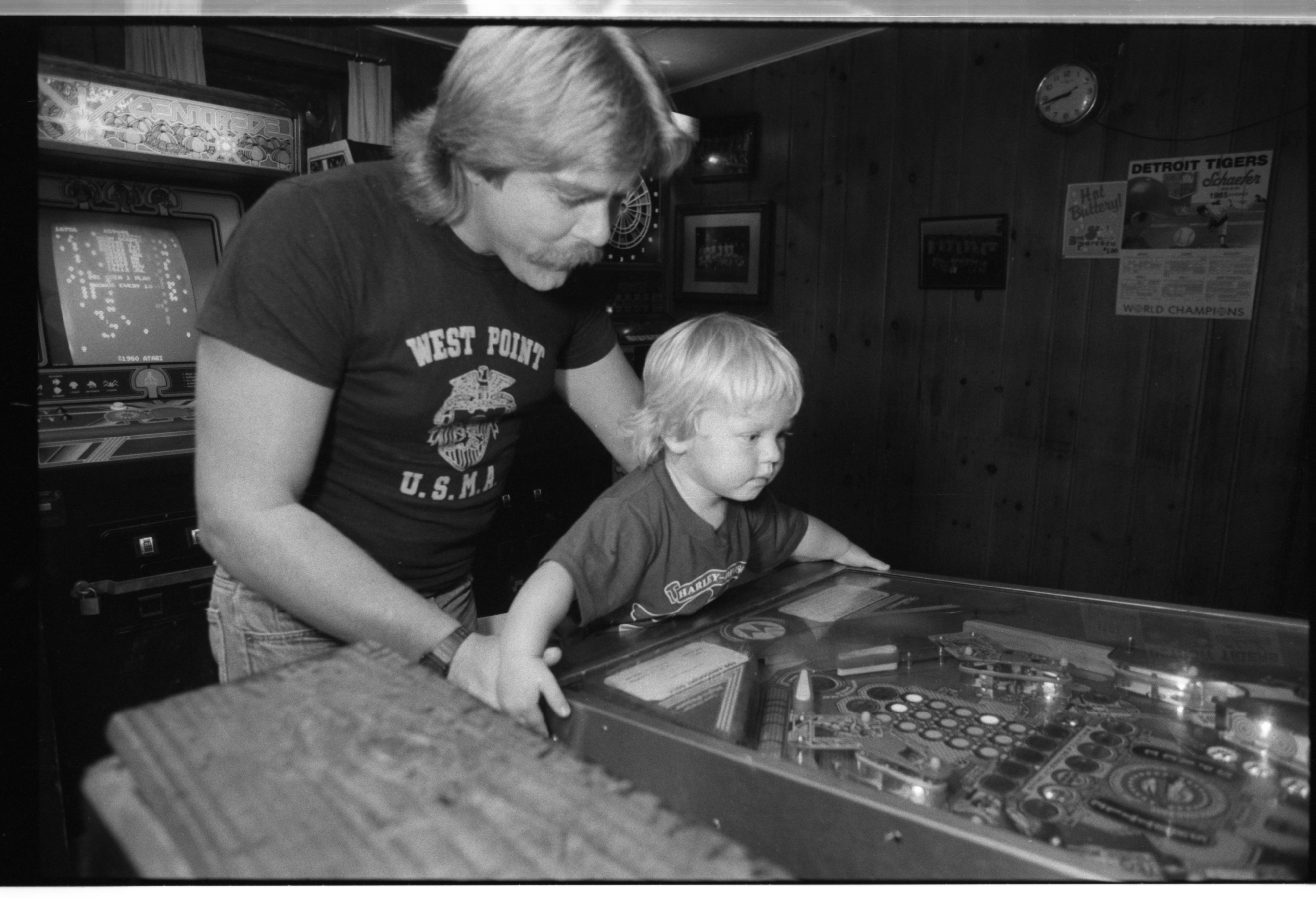 One Last Game Before Stadium Tavern Closes Down, September 1985 image